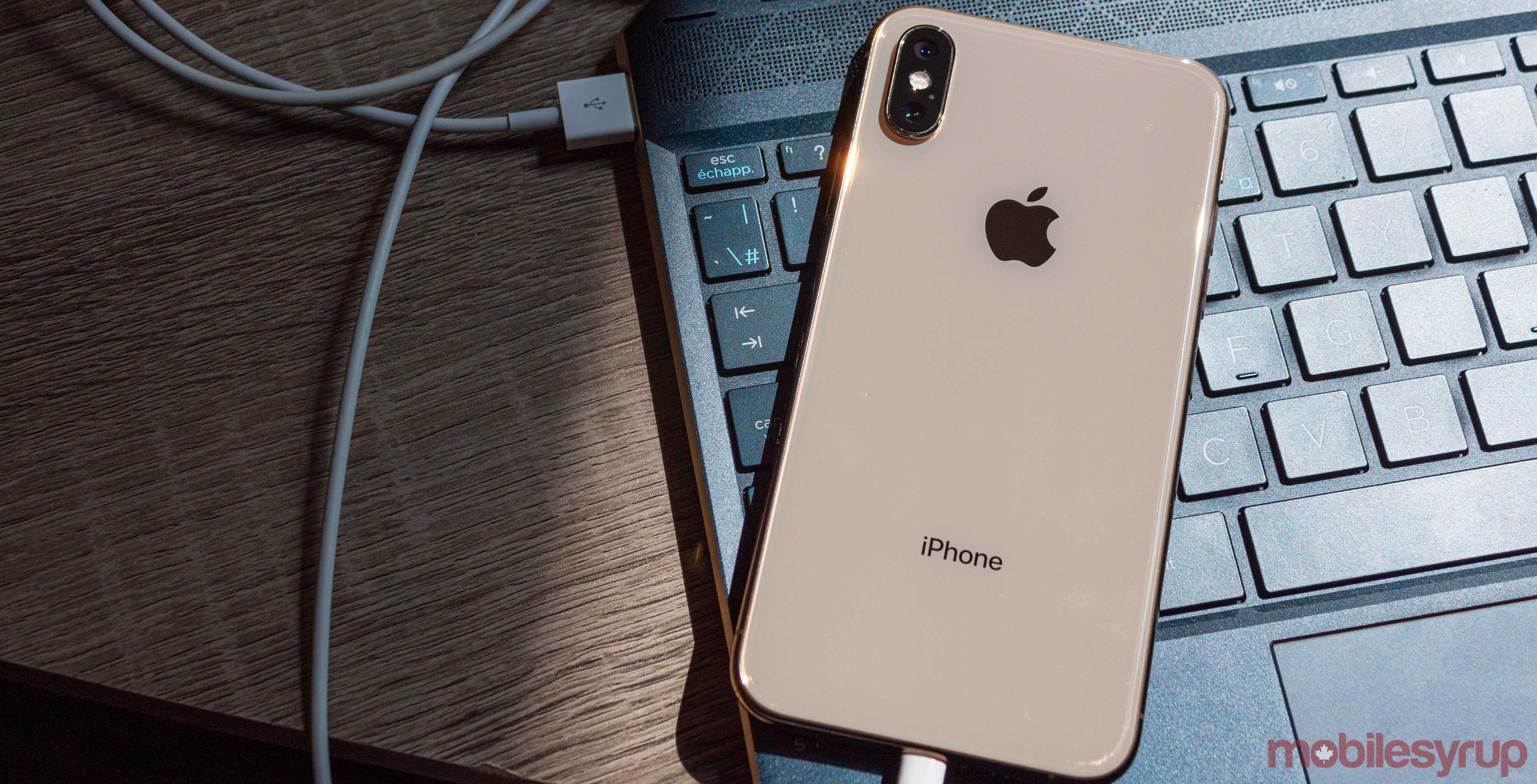 iPhone USB tethering