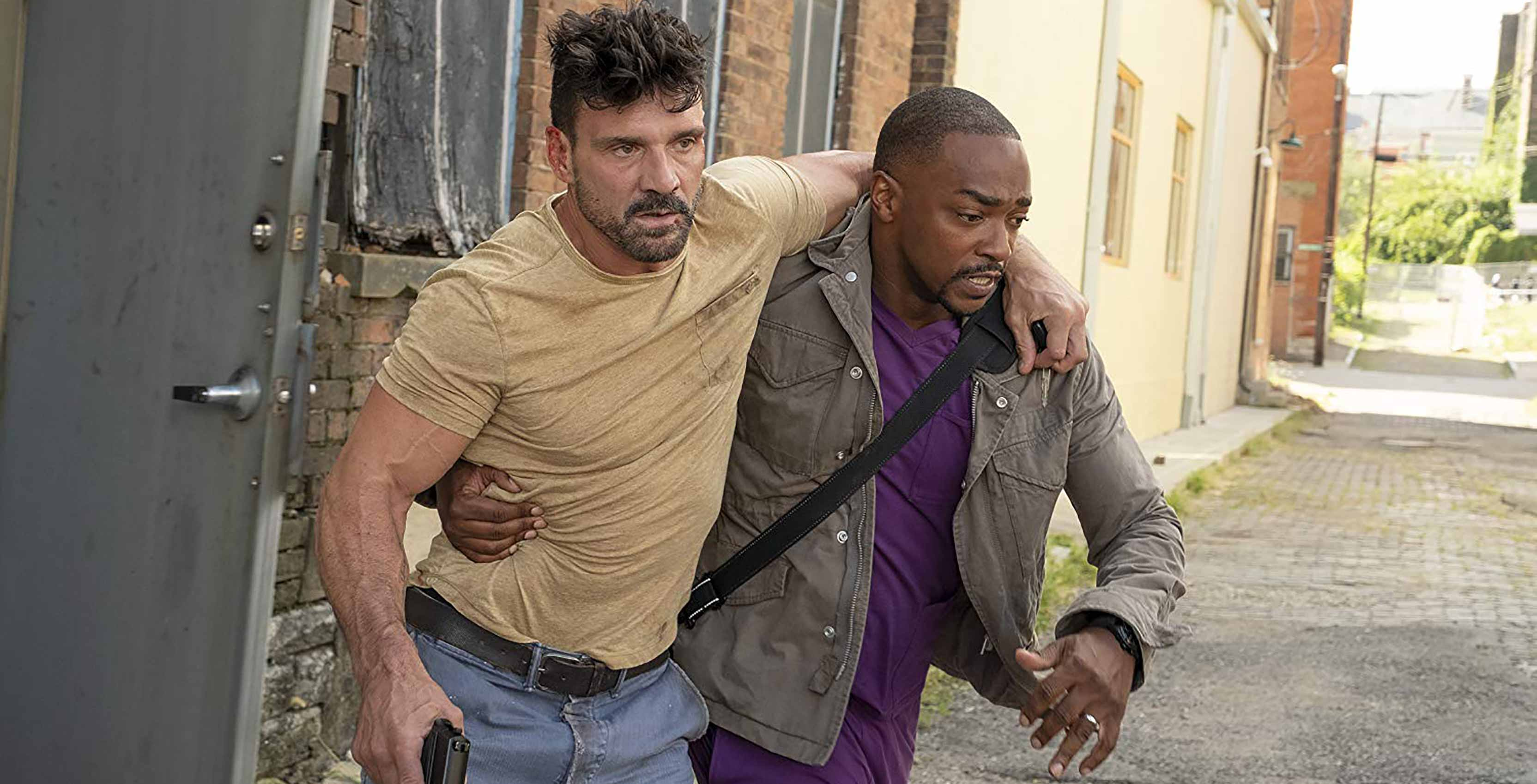 Point Blank Anthony Mackie and Frank Grillo