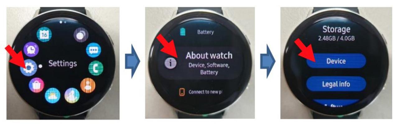 Samsung Galaxy Watch Active 2 FCC leak