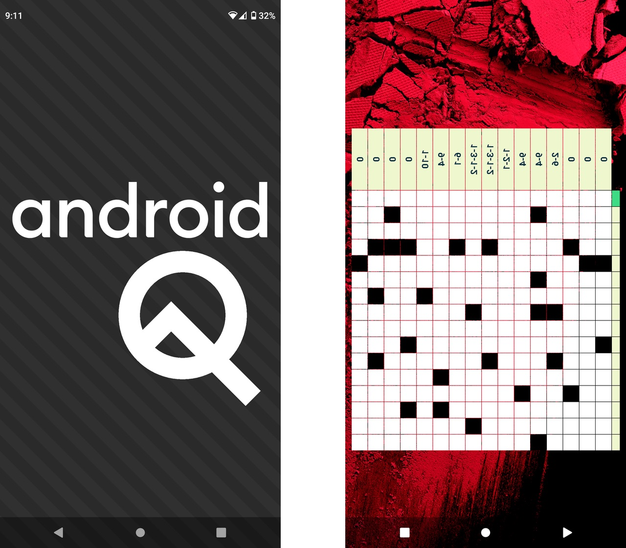 Android Q easter egg