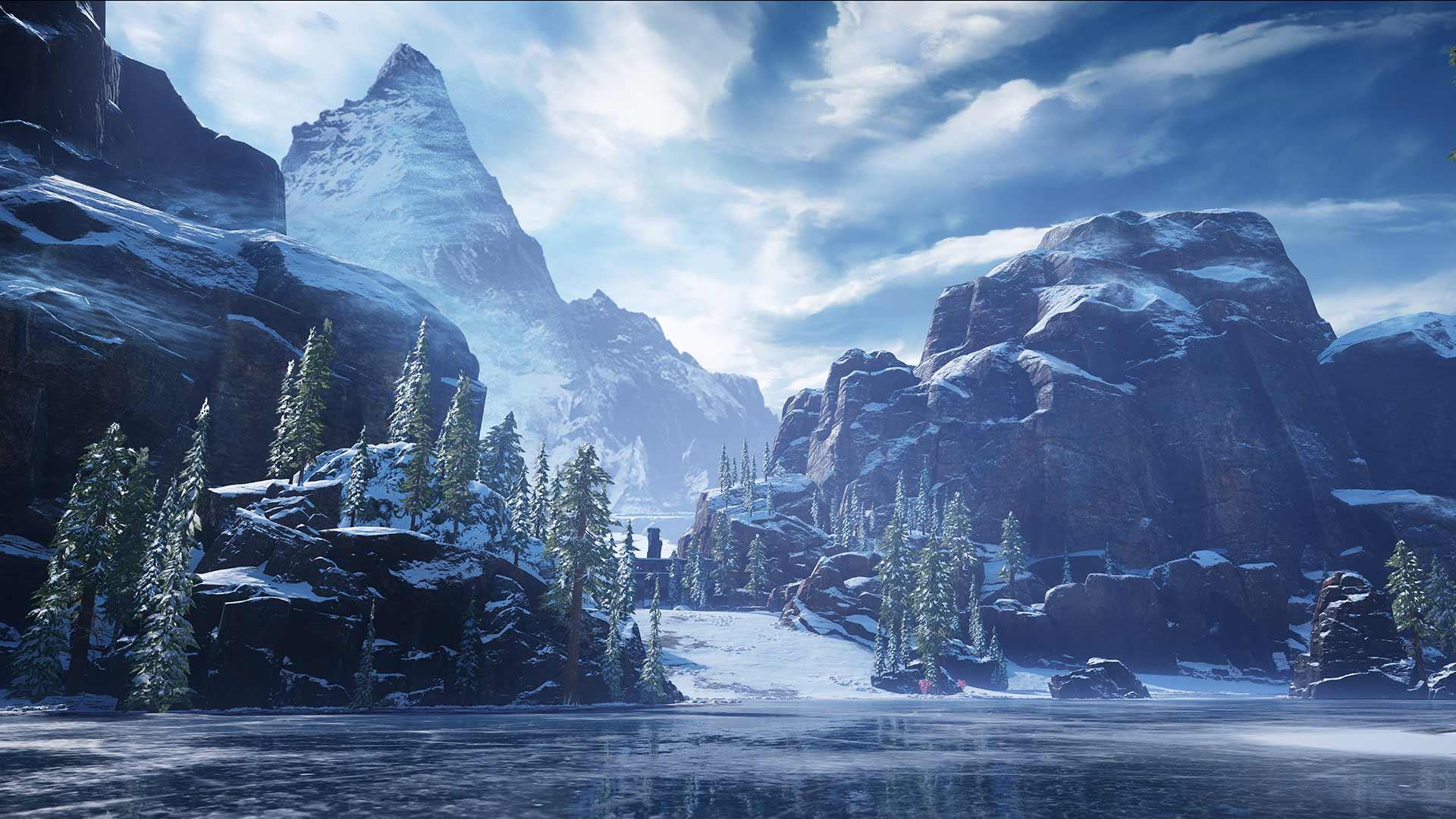 Gears 5 ice area