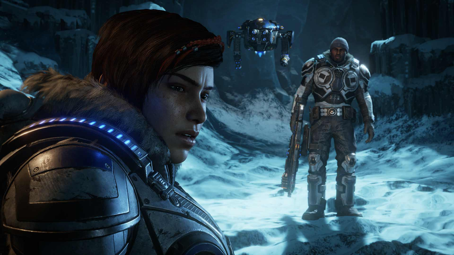 Gears 5 Kait, Del and Jack