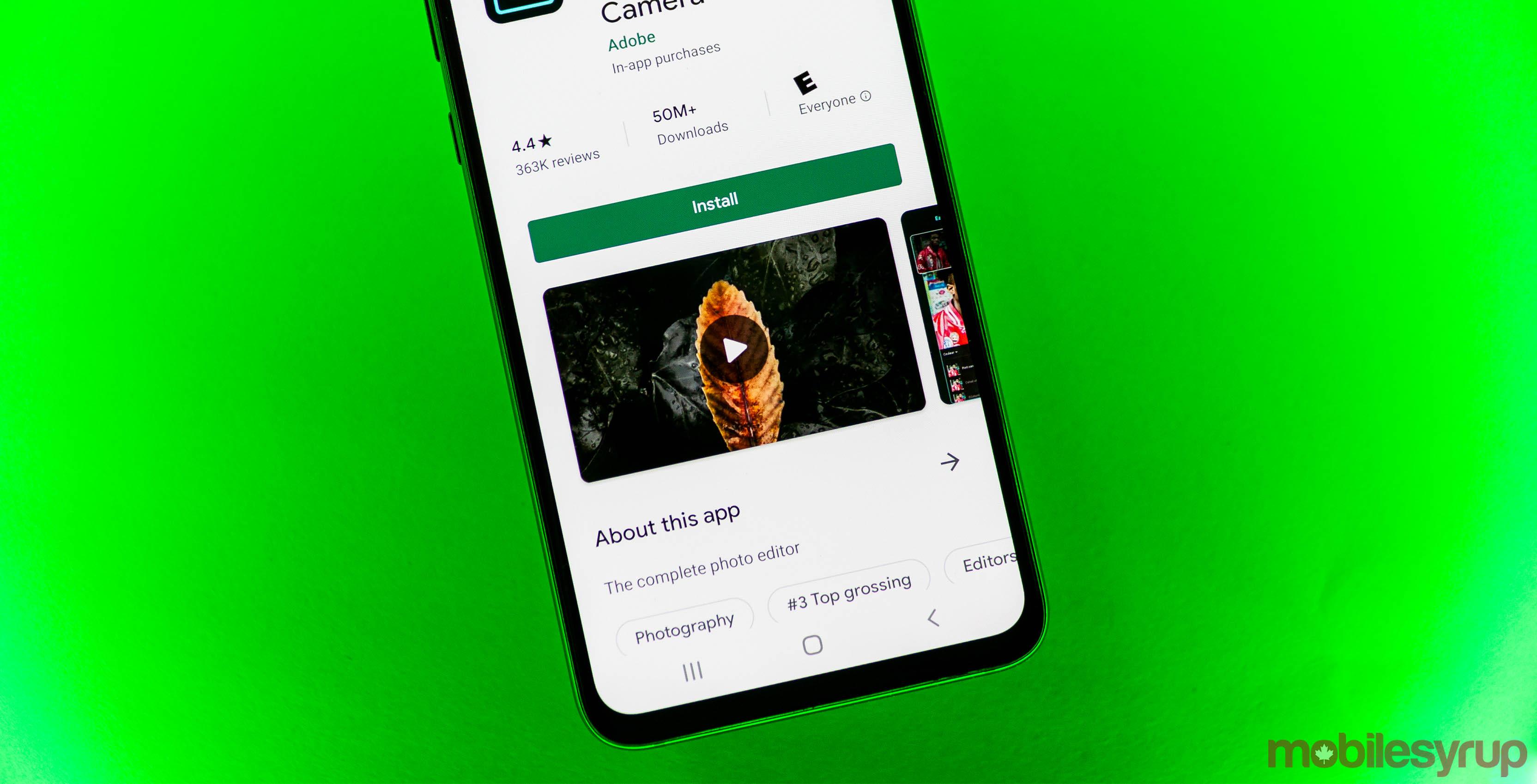Google Play Store video