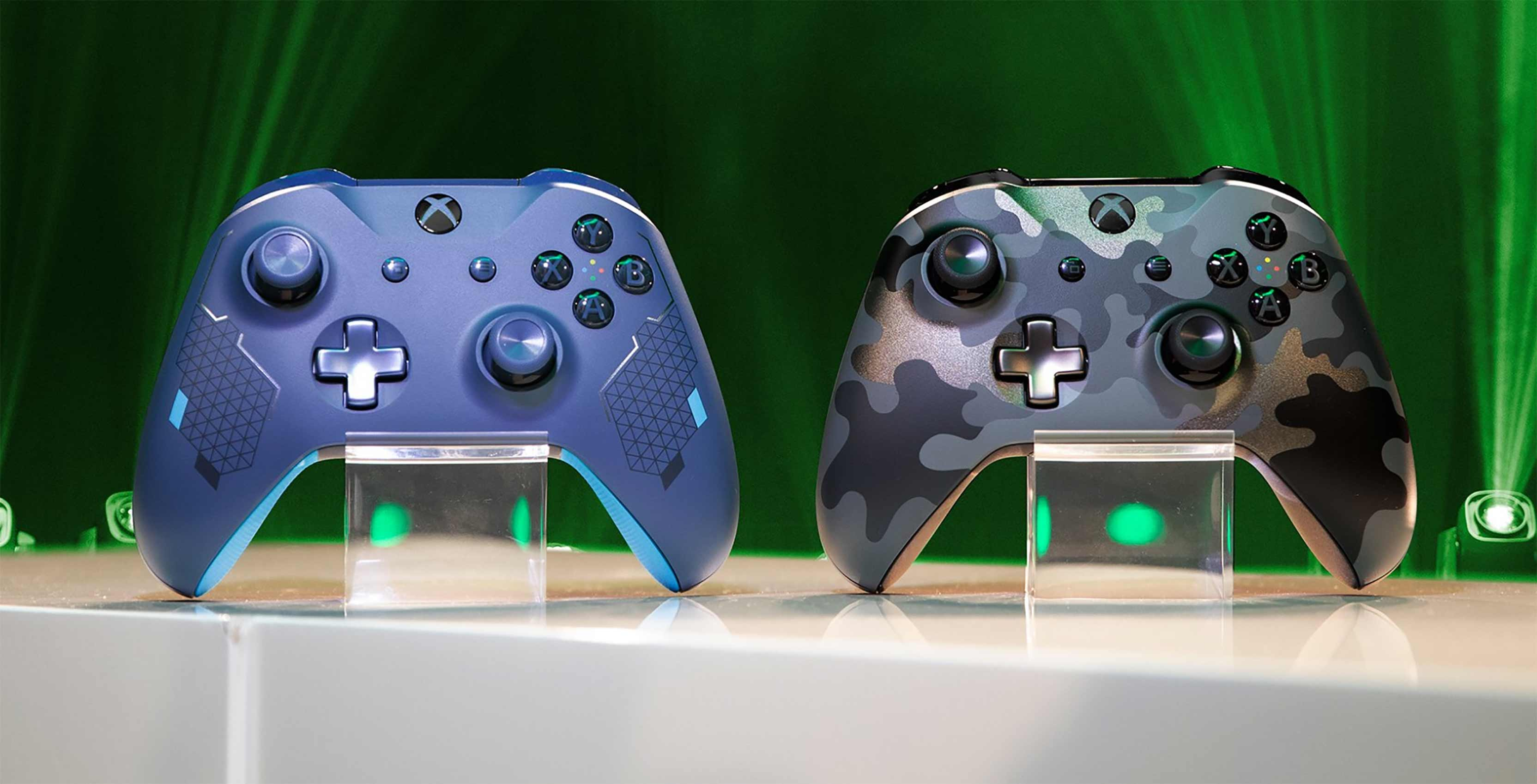 new Xbox One controllers