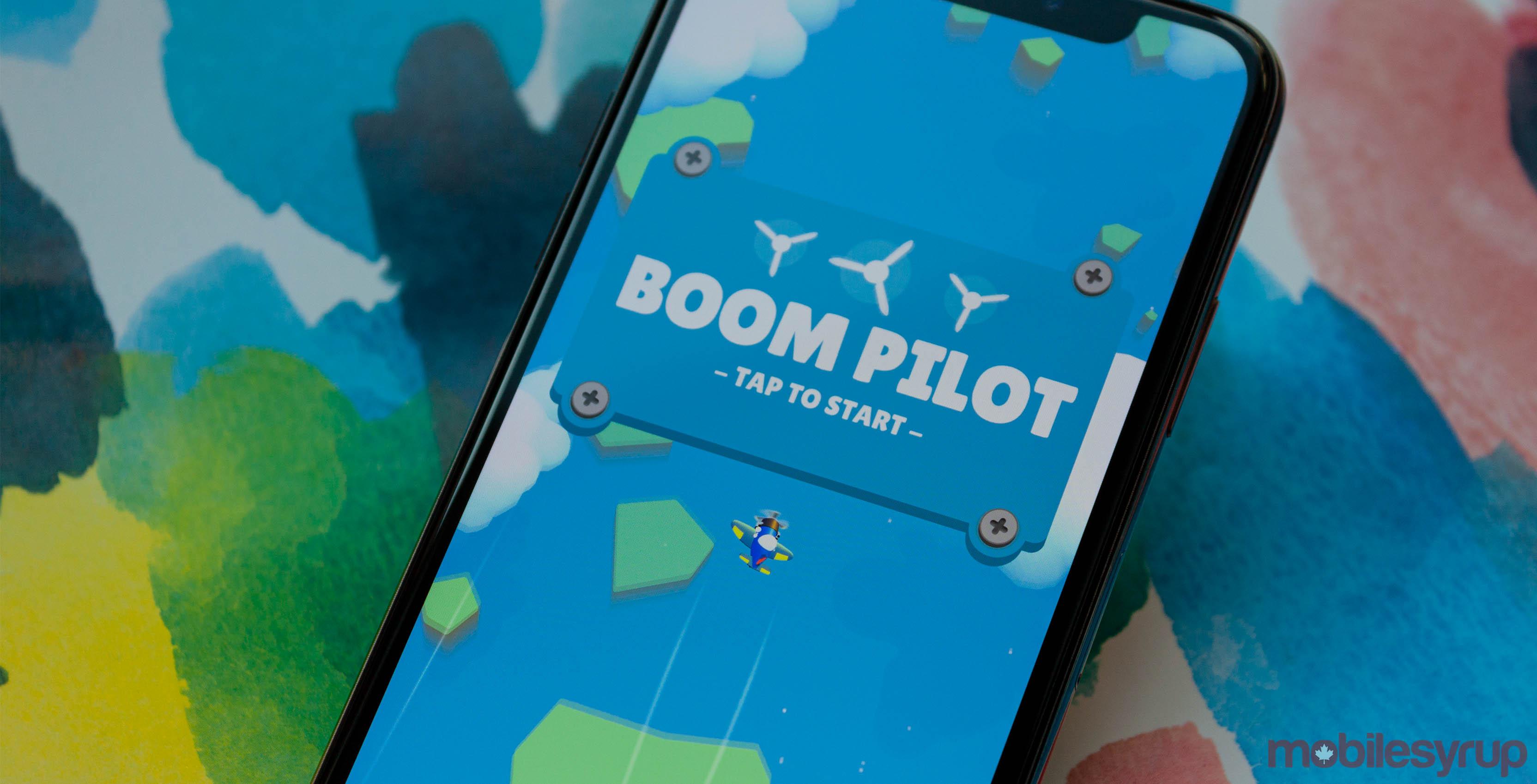 Boom Pilot on iPhone