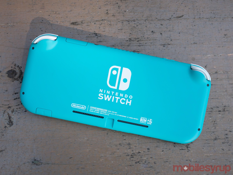 Switch Lite rear