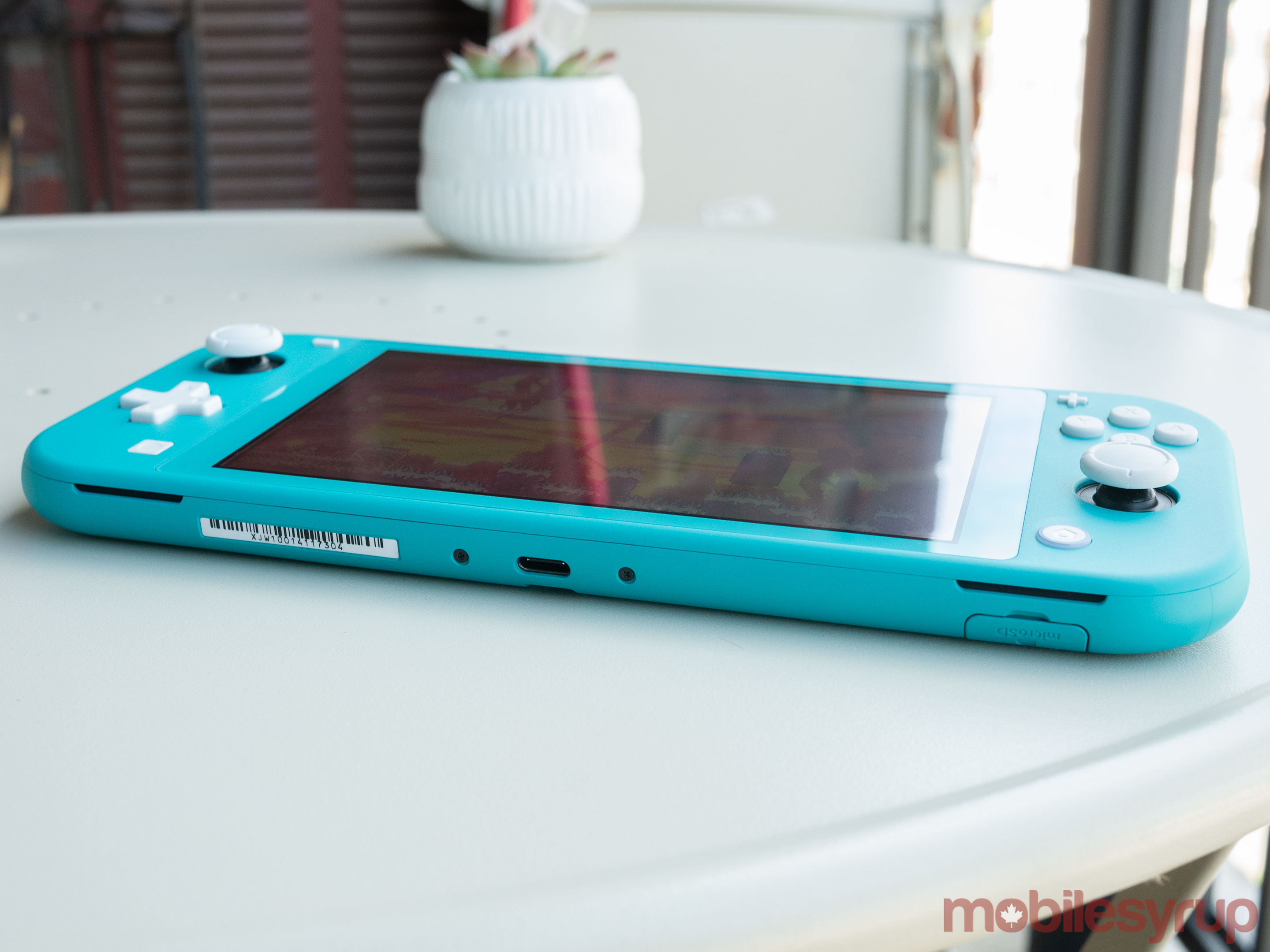 Switch Lite side view