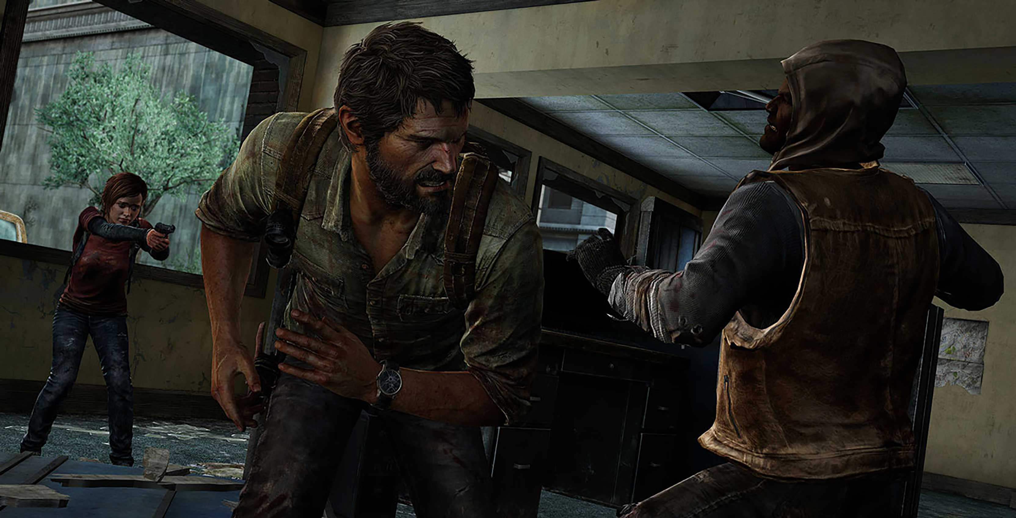The Last of Us Remastered combat