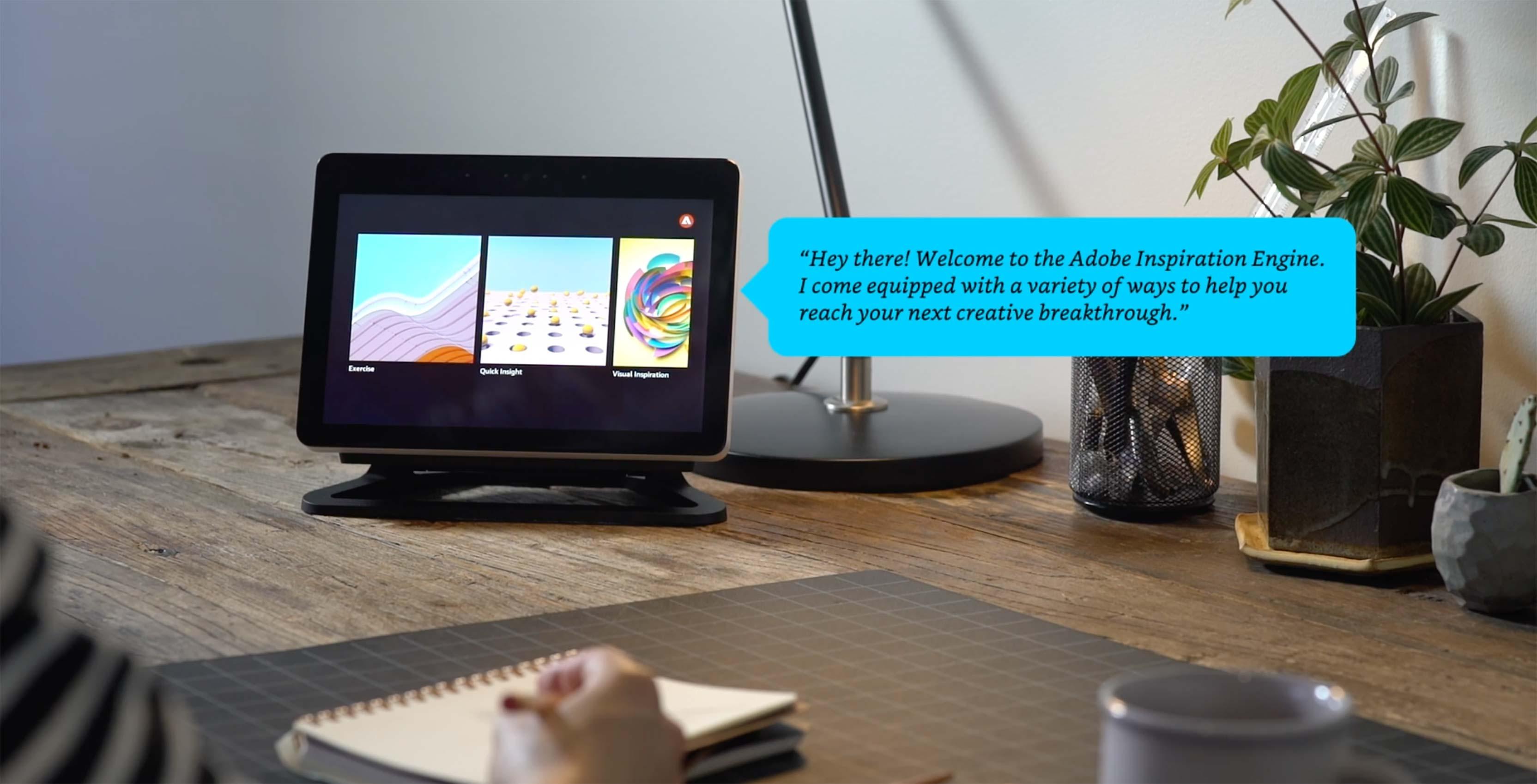 Adobe Inspiration Engine