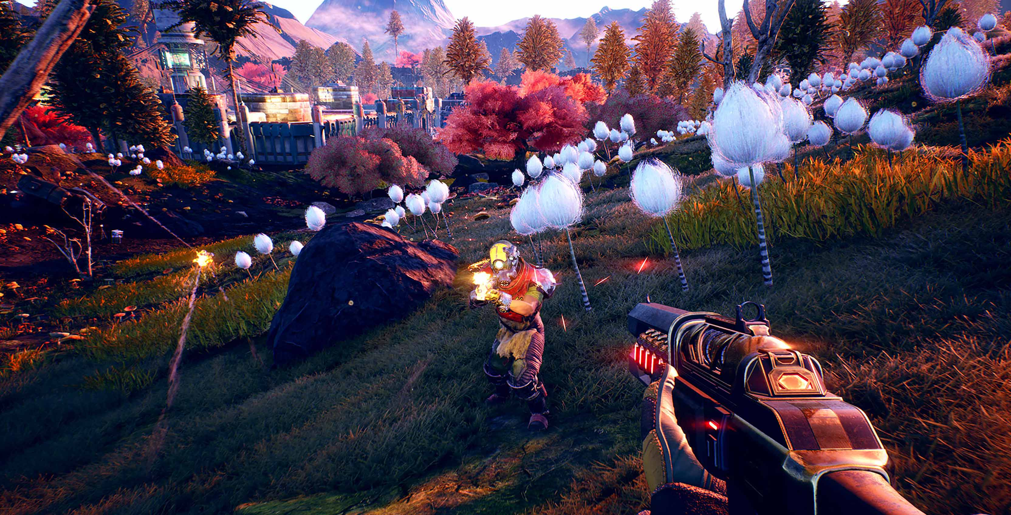 The Outer Worlds combat