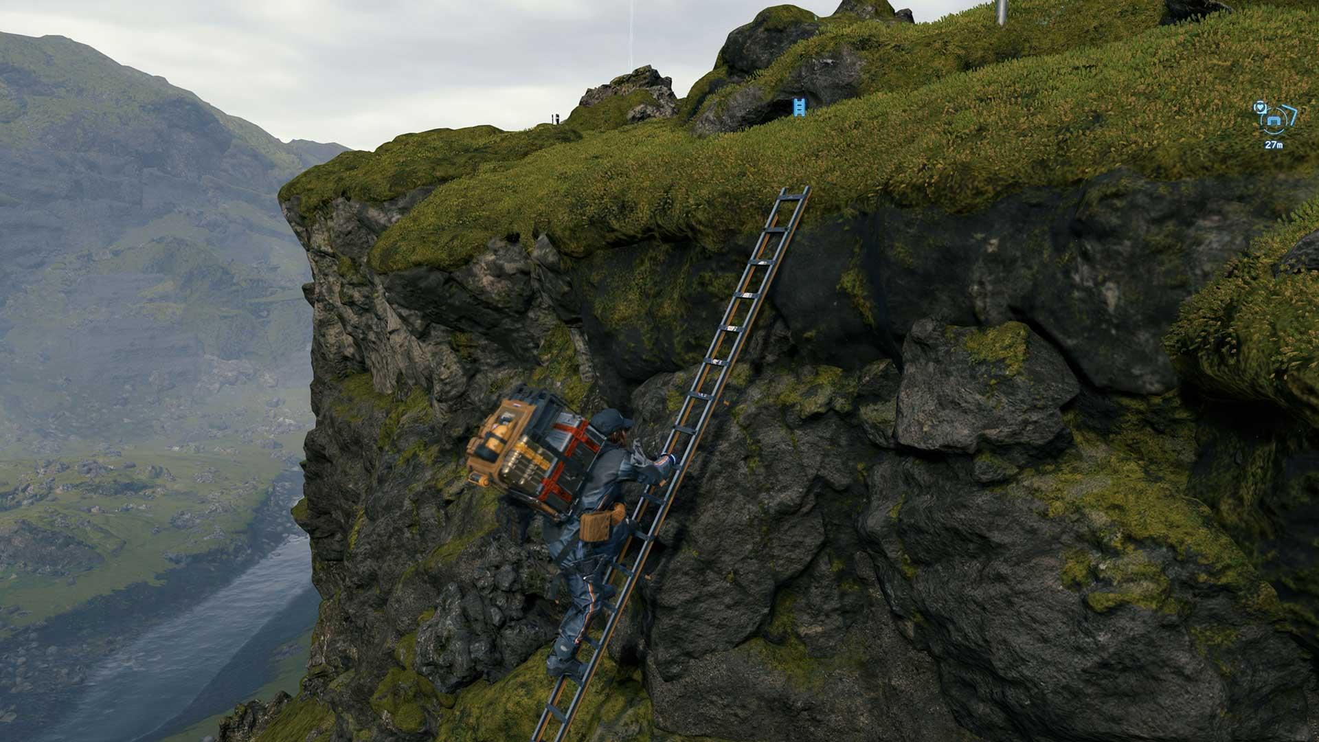 Death Stranding ladder