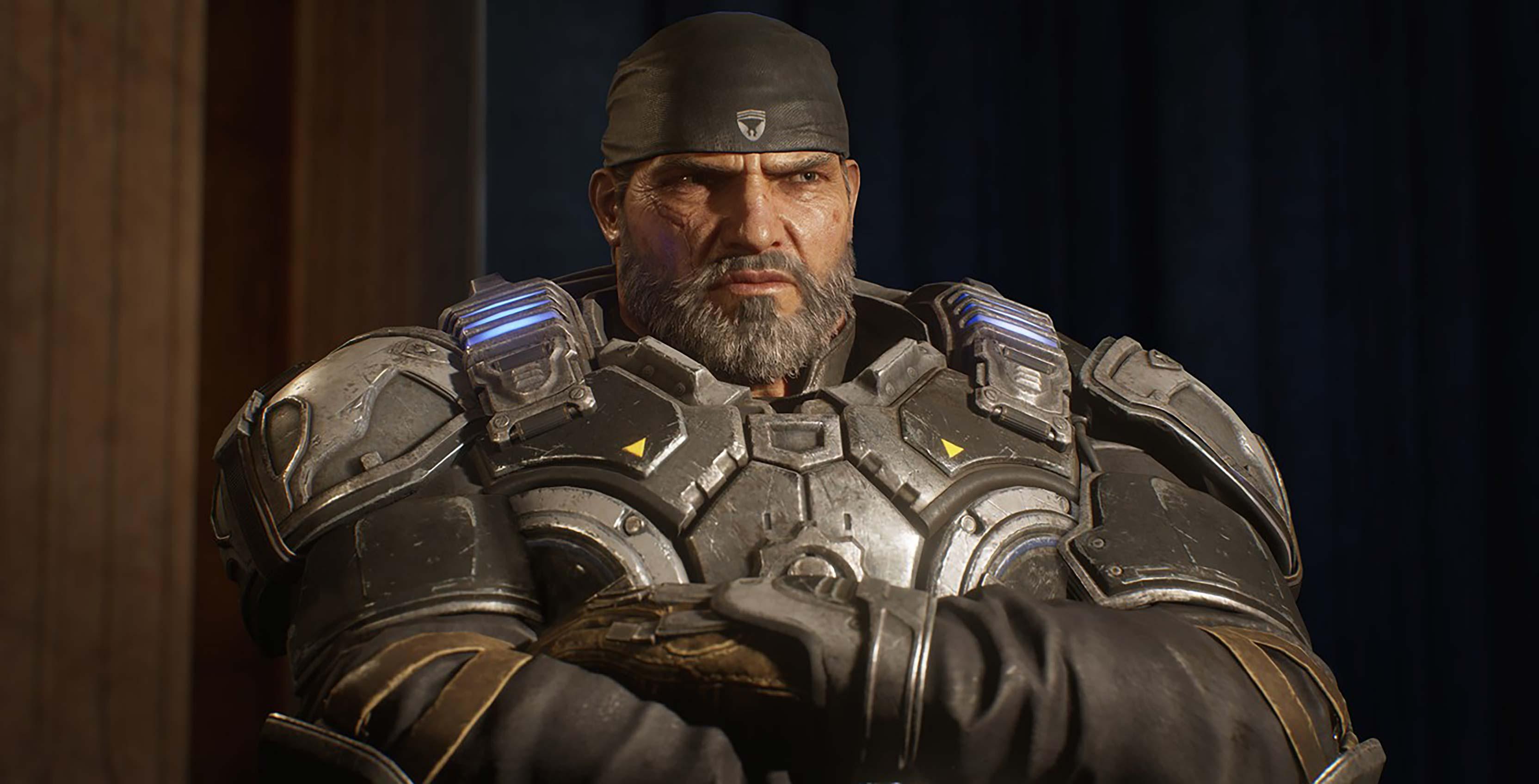 Gears 5 Marcus Fenix