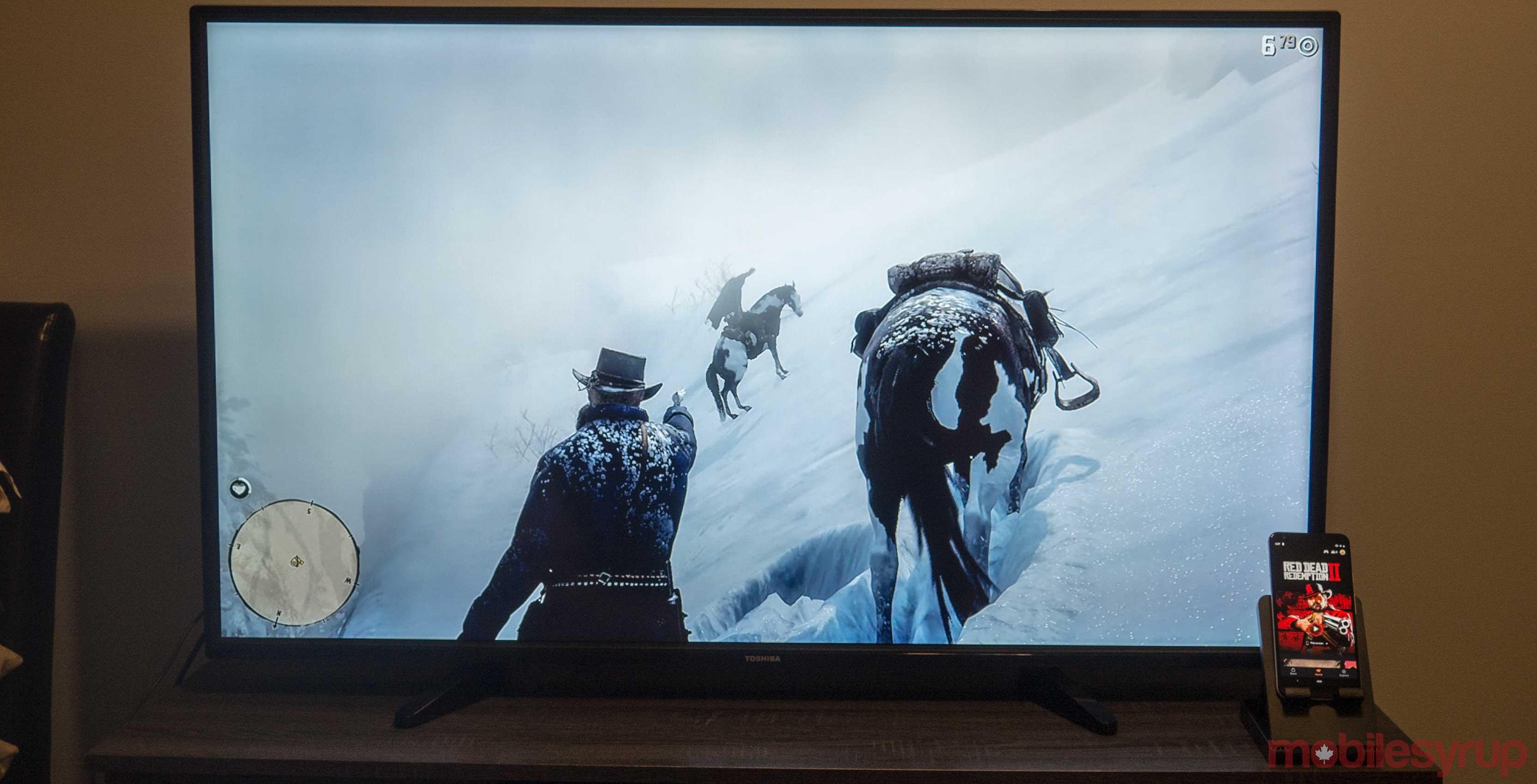 Google Stadia Red Dead Redemption 2