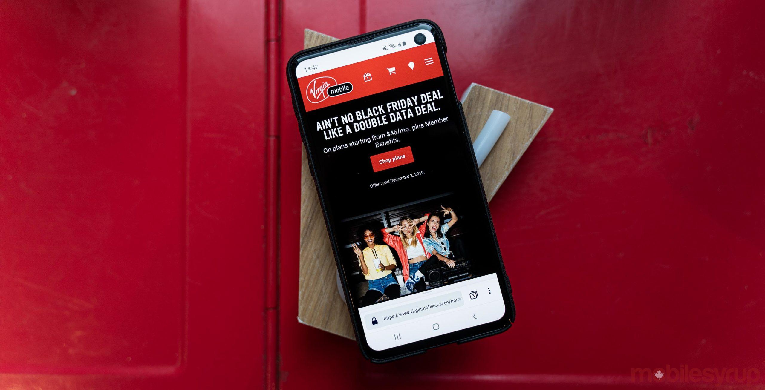 Virgin Mobile Black Friday