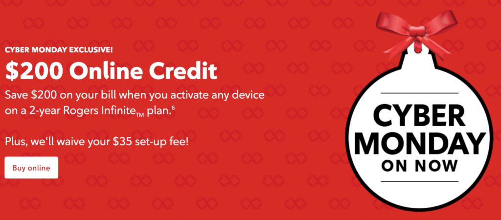 rogers cyber monday