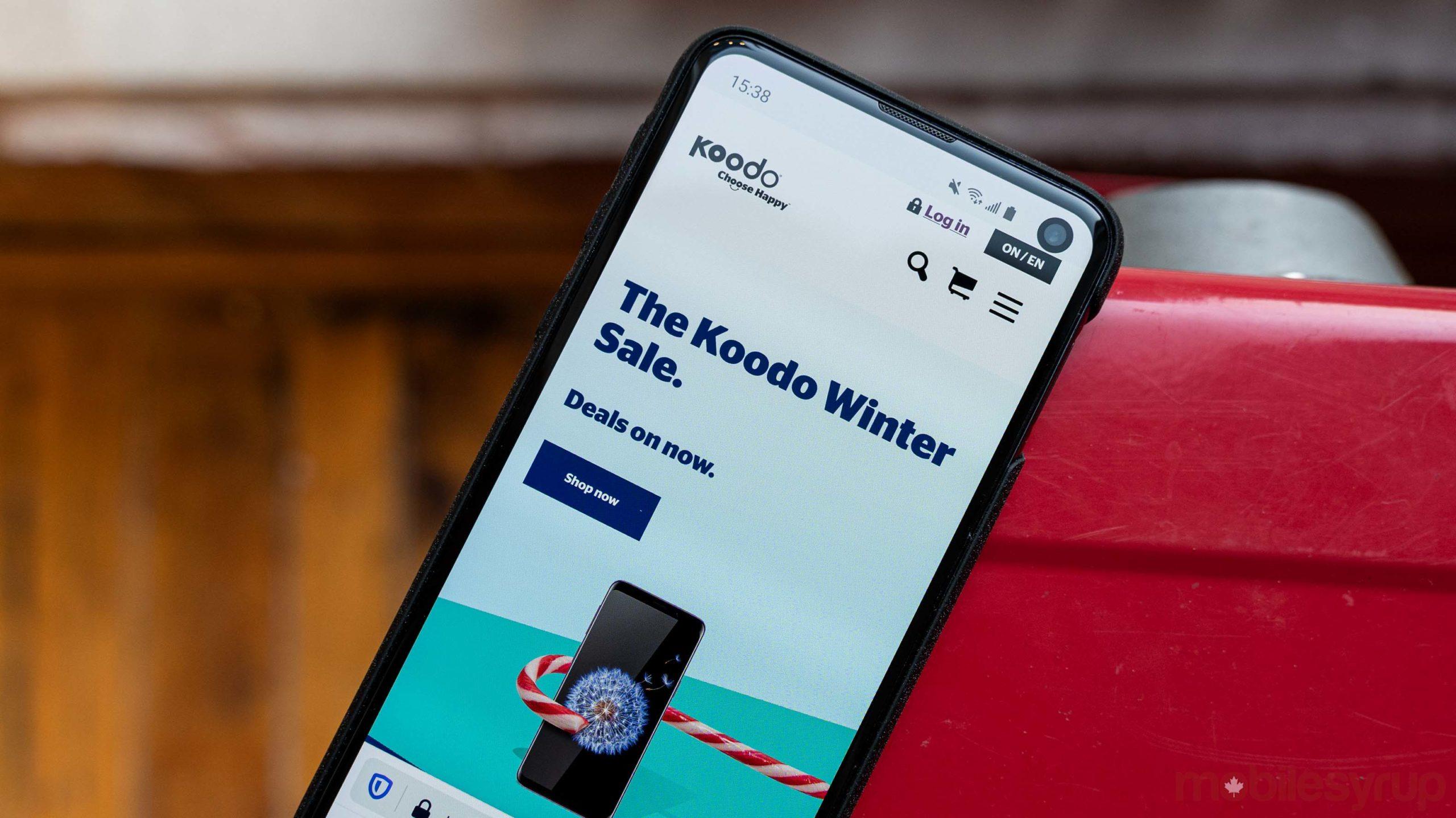 Koodo Winter Sale
