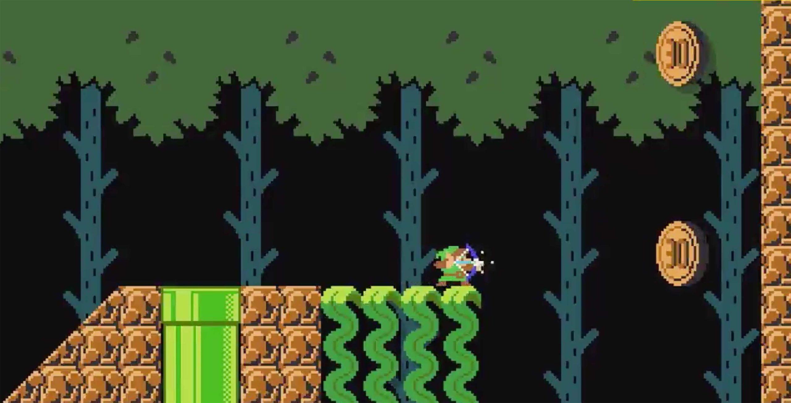 Super Mario Maker 2 Link
