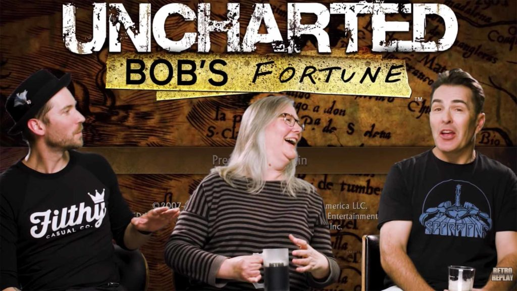 Uncharted: Drake's Fortune Retro Replay