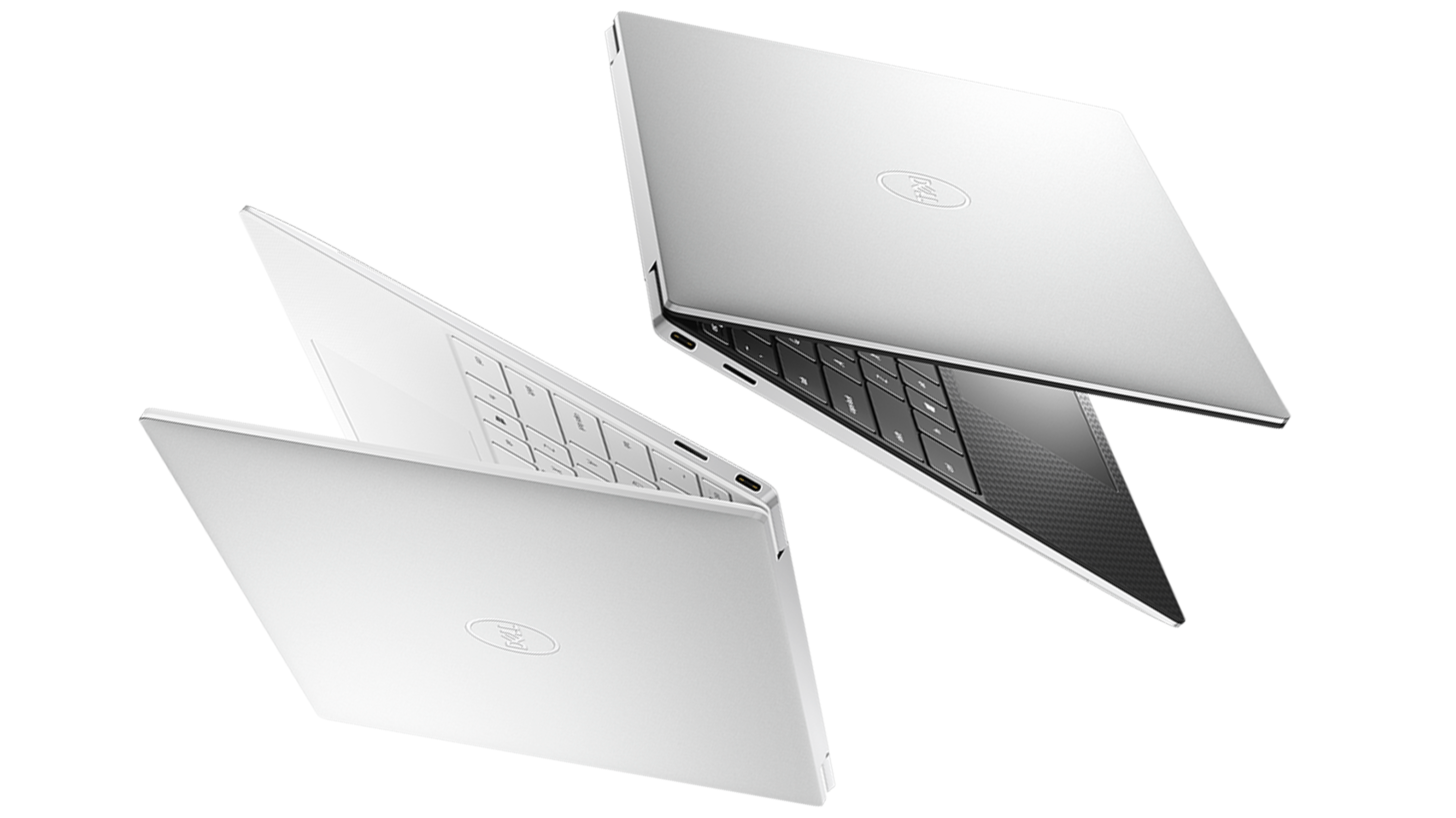 Dell XPS 13 2020 in black and white