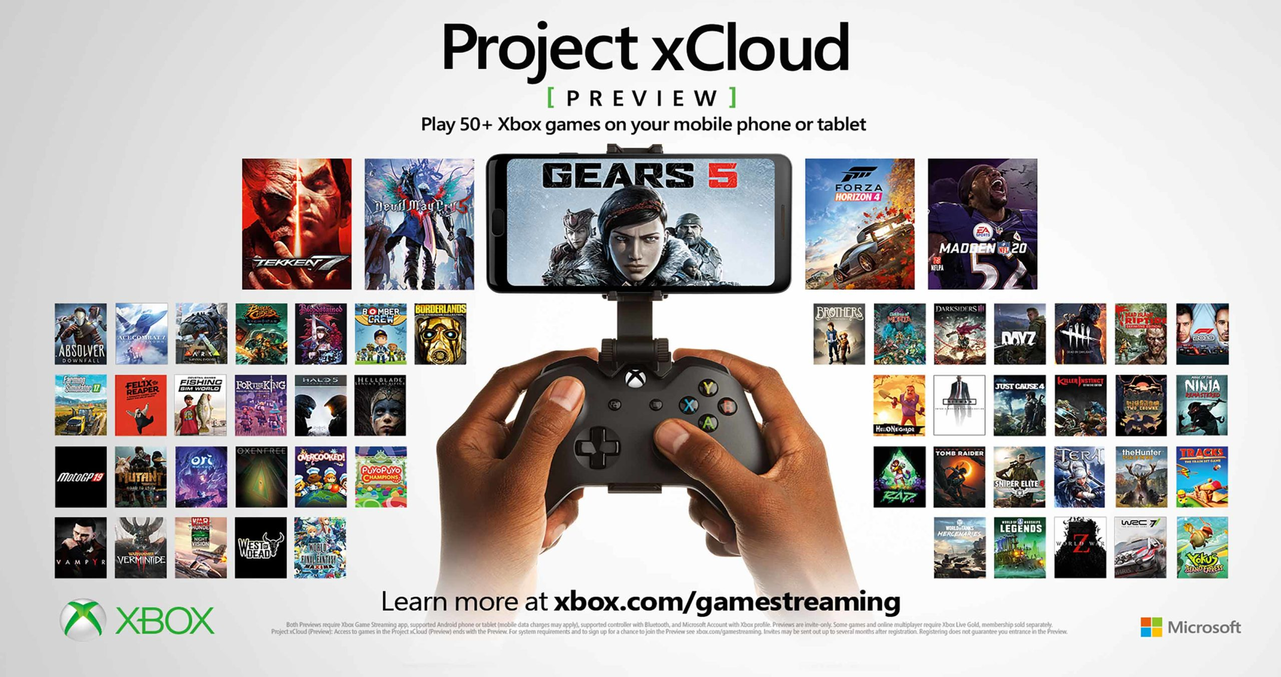Project xCloud games