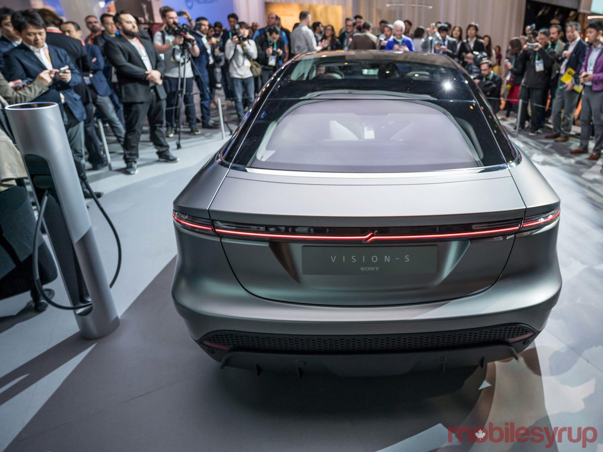 Sony car rear