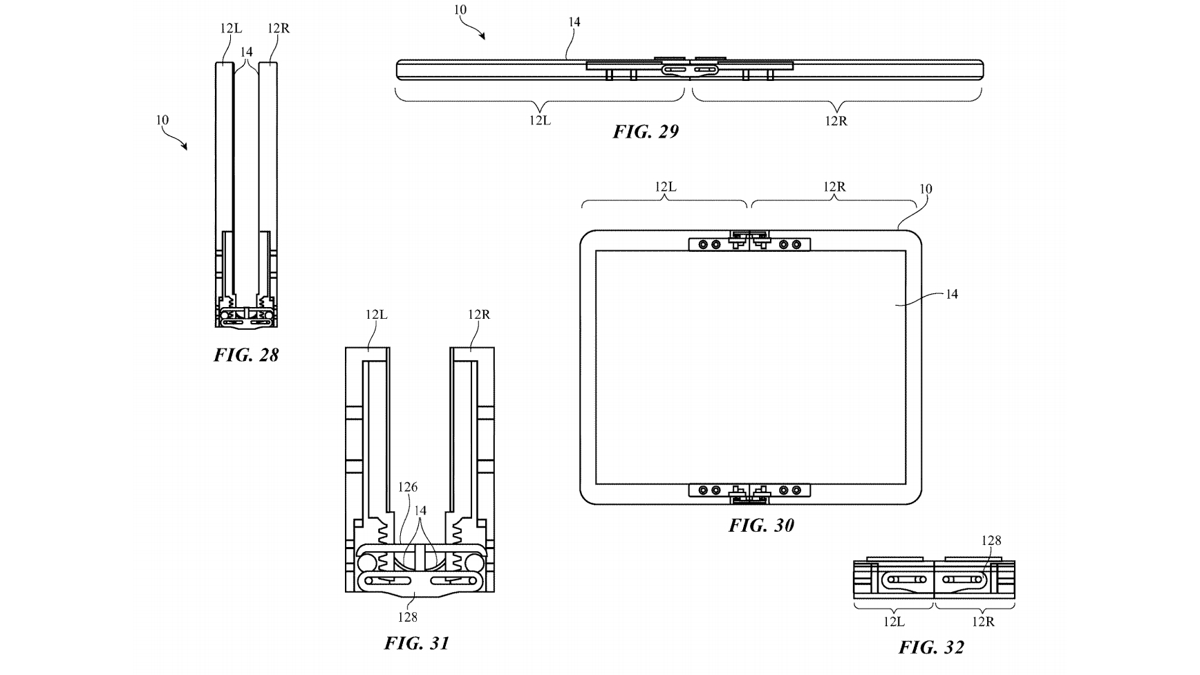 Apple foldable device patent