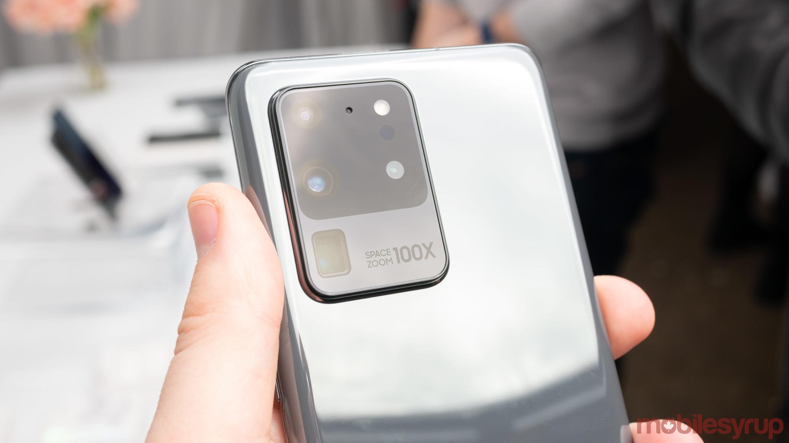 Samsung Galaxy S20 camera