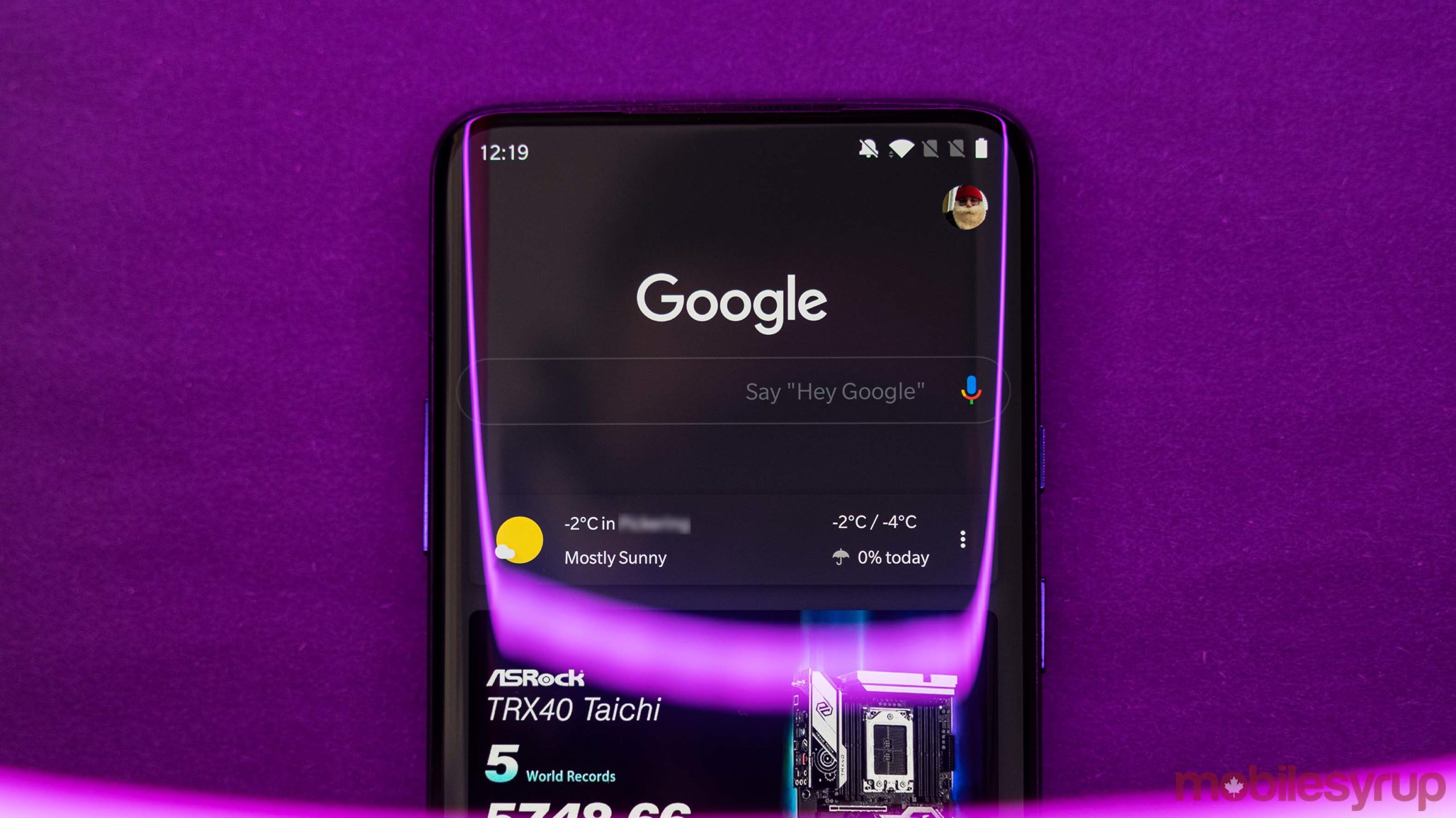 Google app dark mode