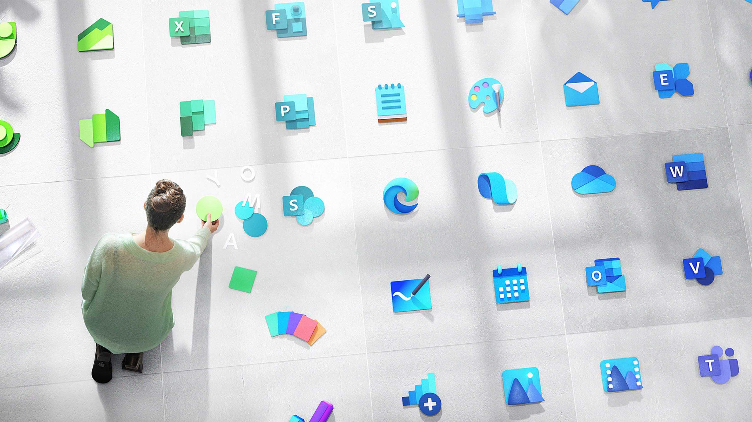 Microsoft Windows new icons