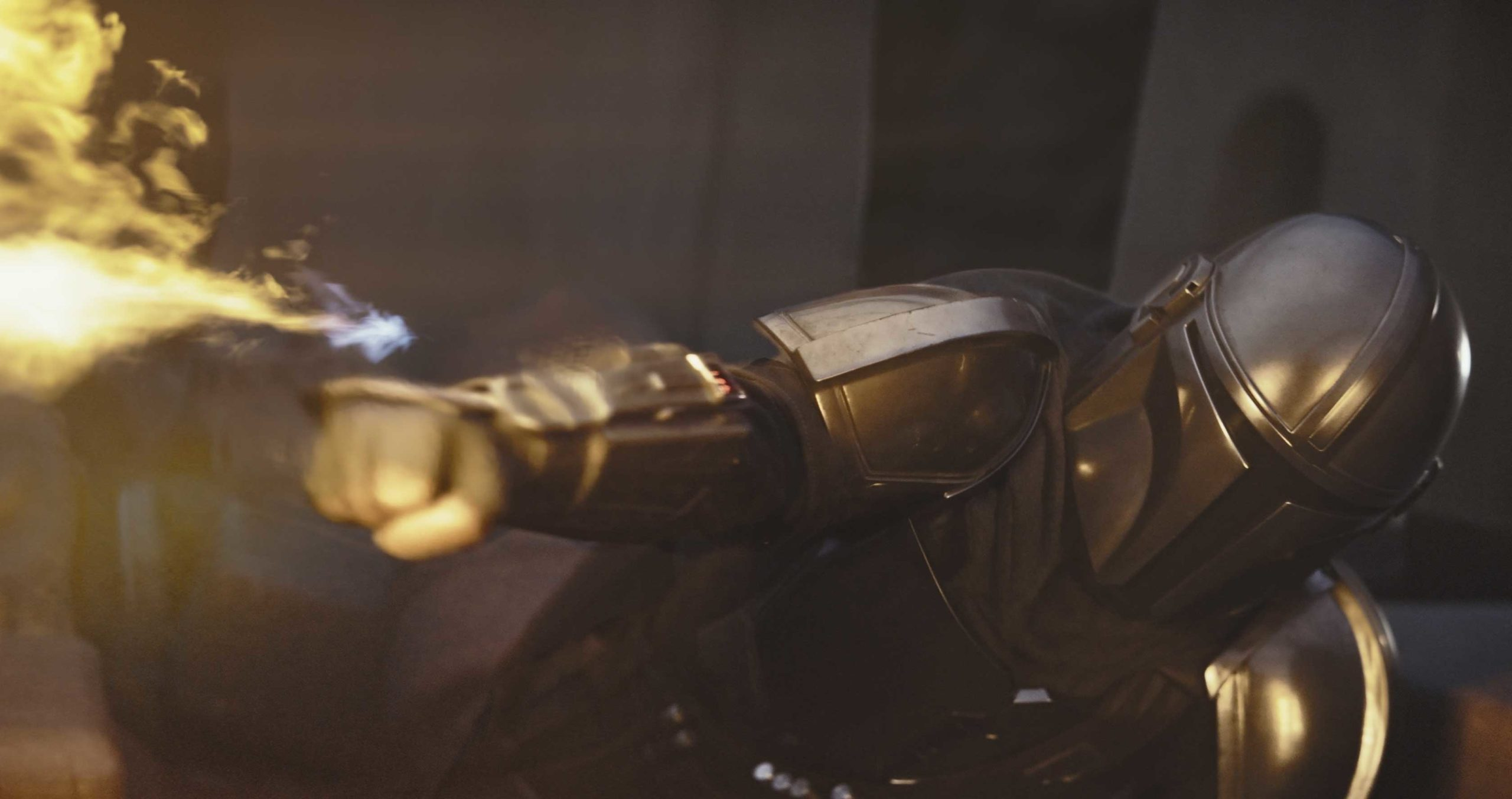 The Mandalorian flamethrower