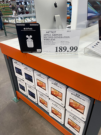 Costco AirPods deal
