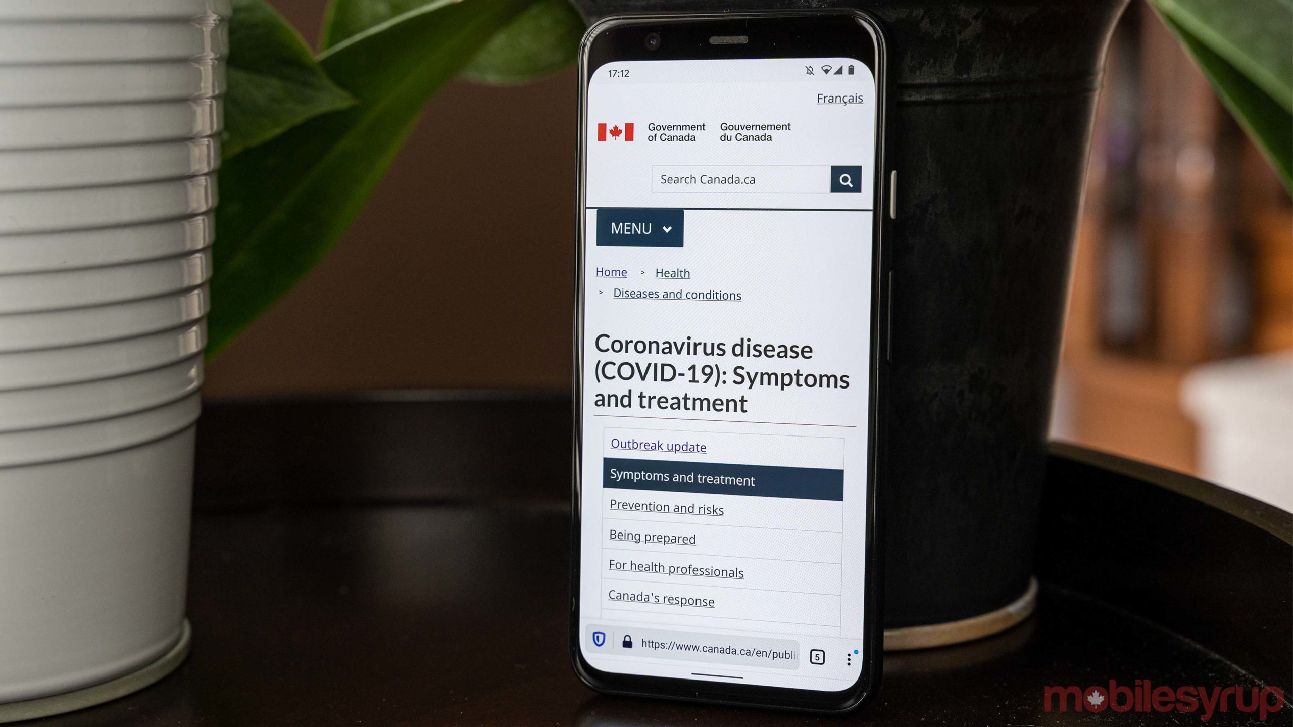 Canada's official COVID-19 resource website