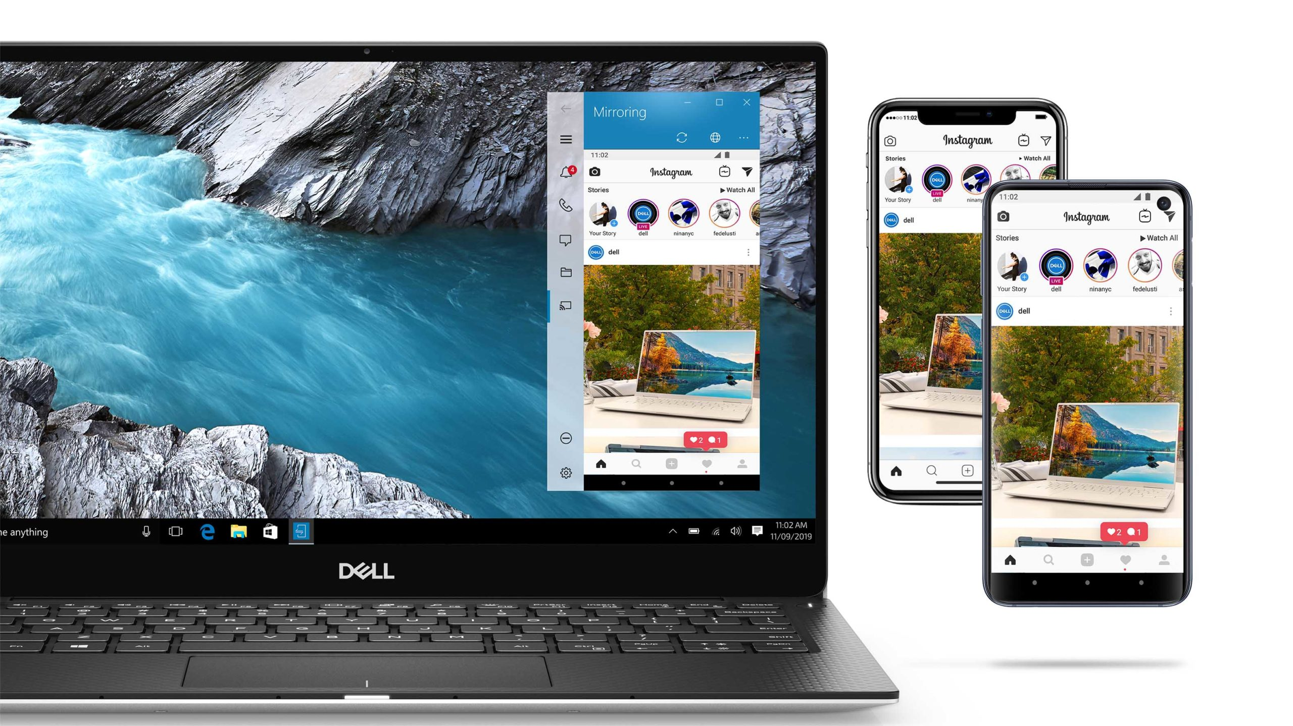 Dell Mobile Connect mirroring with Android and iPhone
