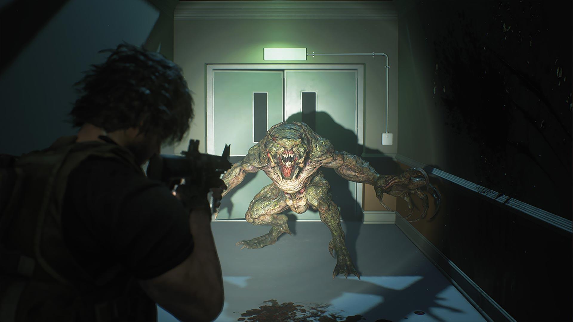 Resident Evil 3 Carlos vs Hunter Beta