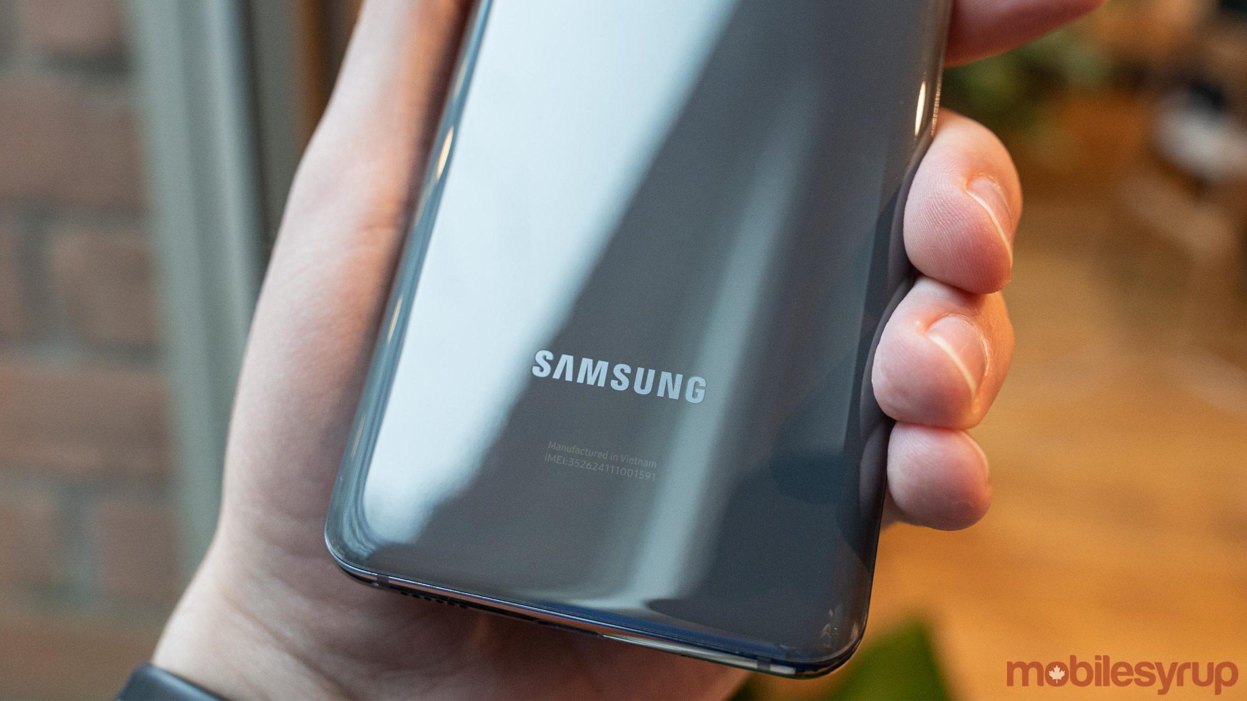 Samsung Galaxy S20 logo