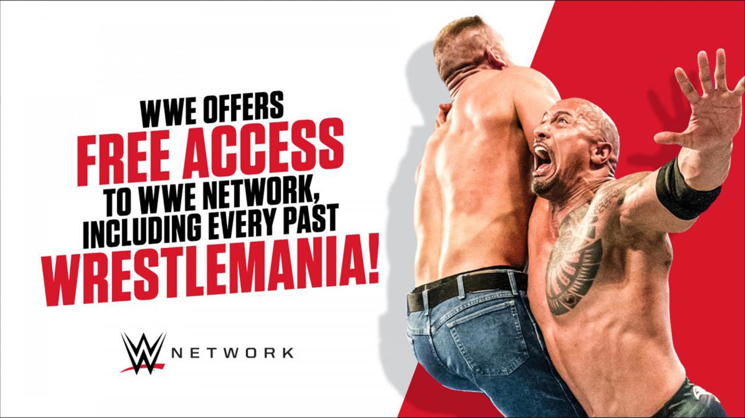 WWE Network free access