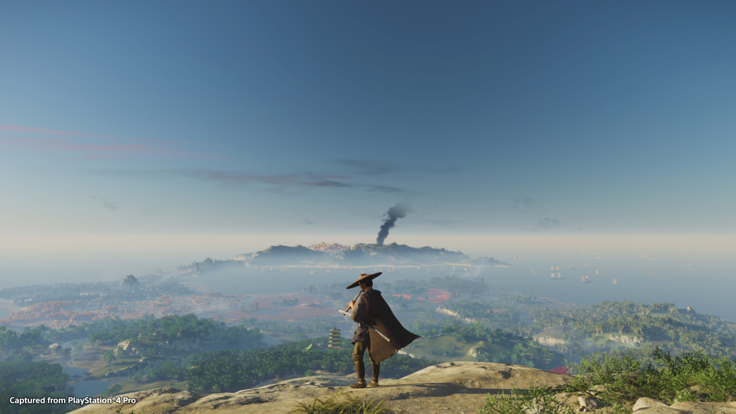 Ghost of Tsushima world