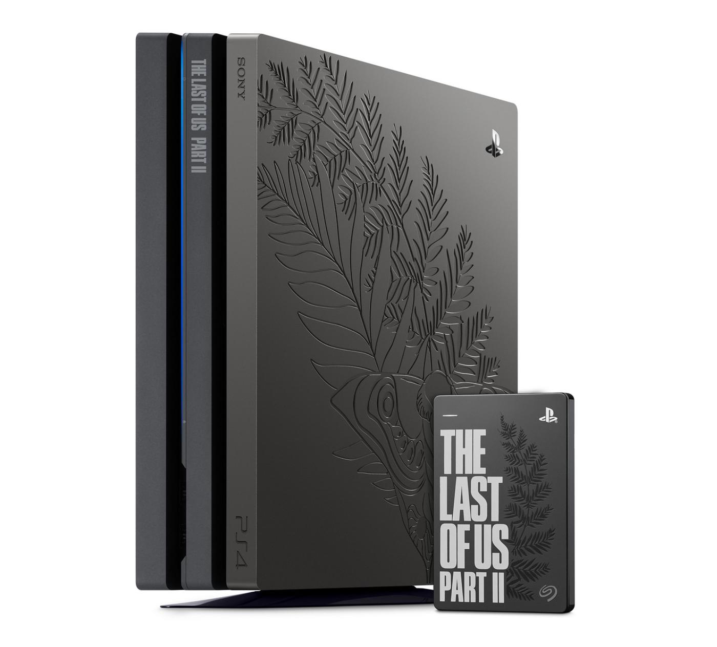 The Last of Us Part II hard drive