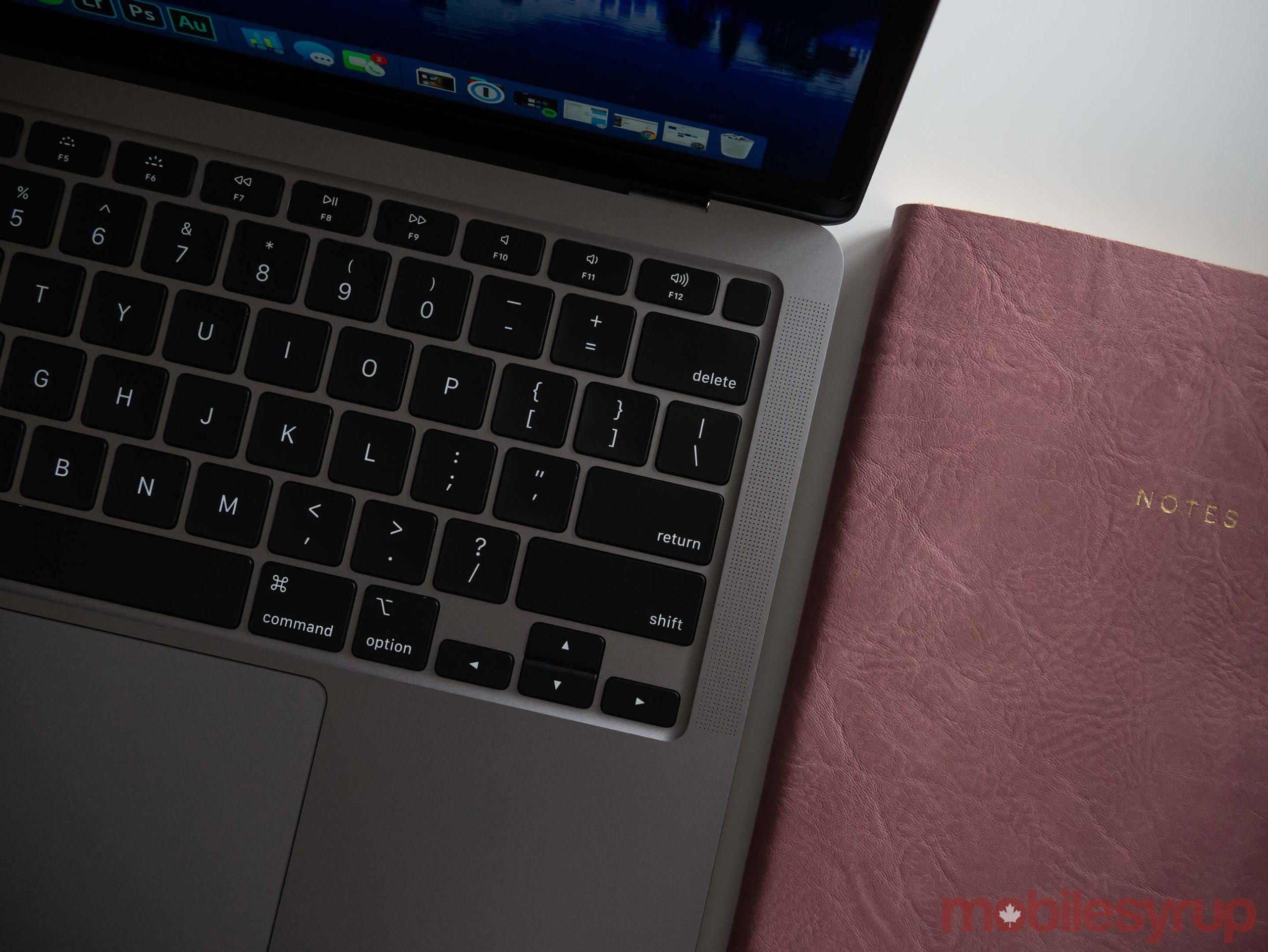 MacBook Air (2020) keyboard