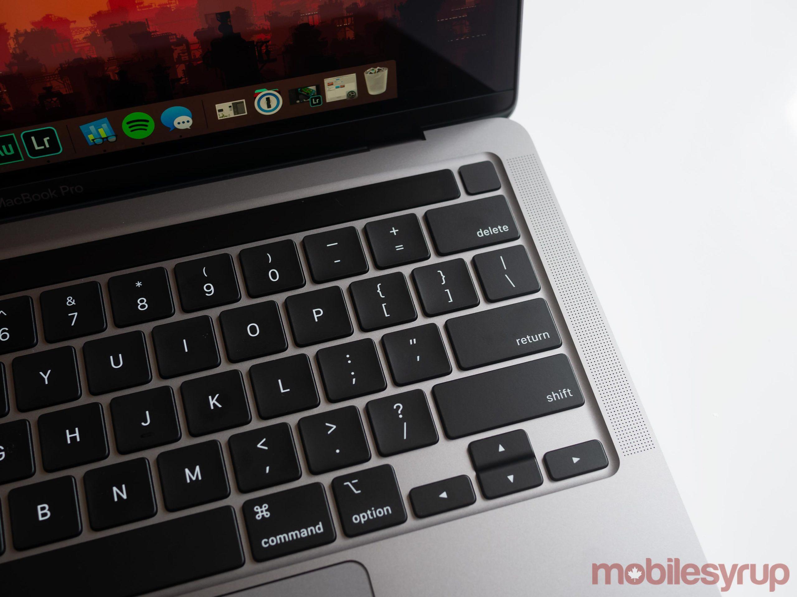 13-inch MacBook Pro (2020) Magic keyboard