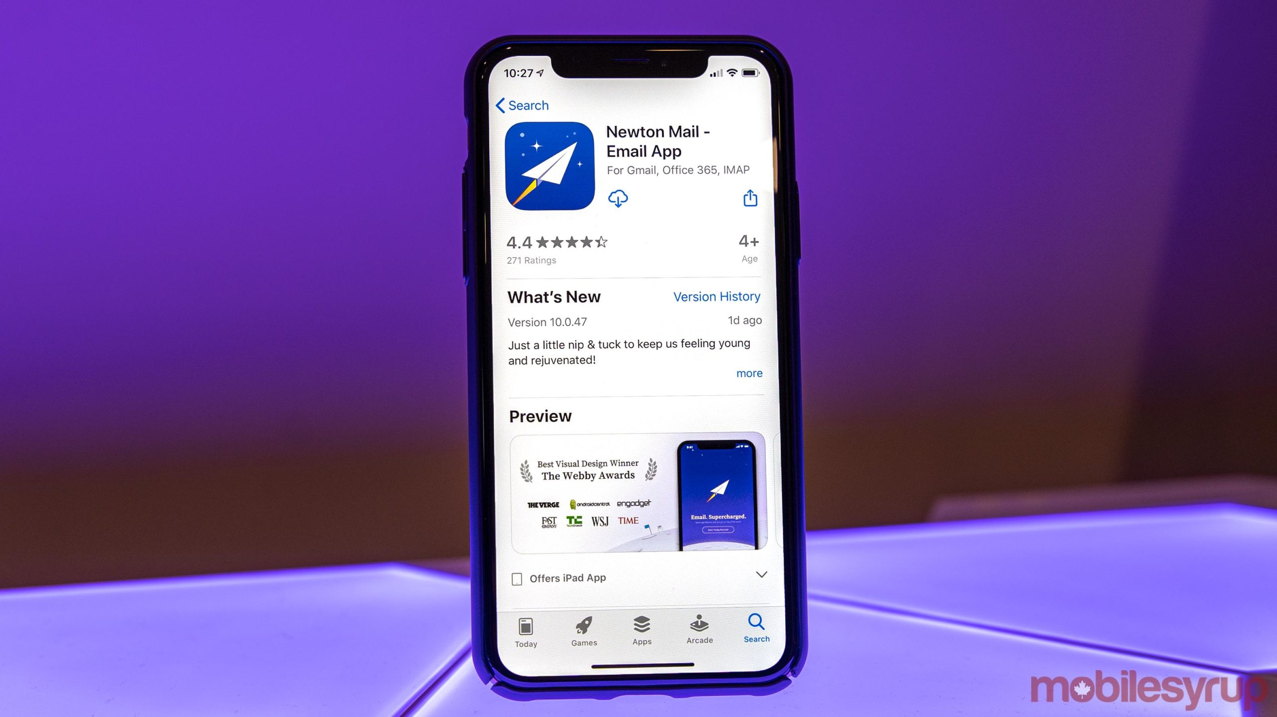 Newton Mail email app