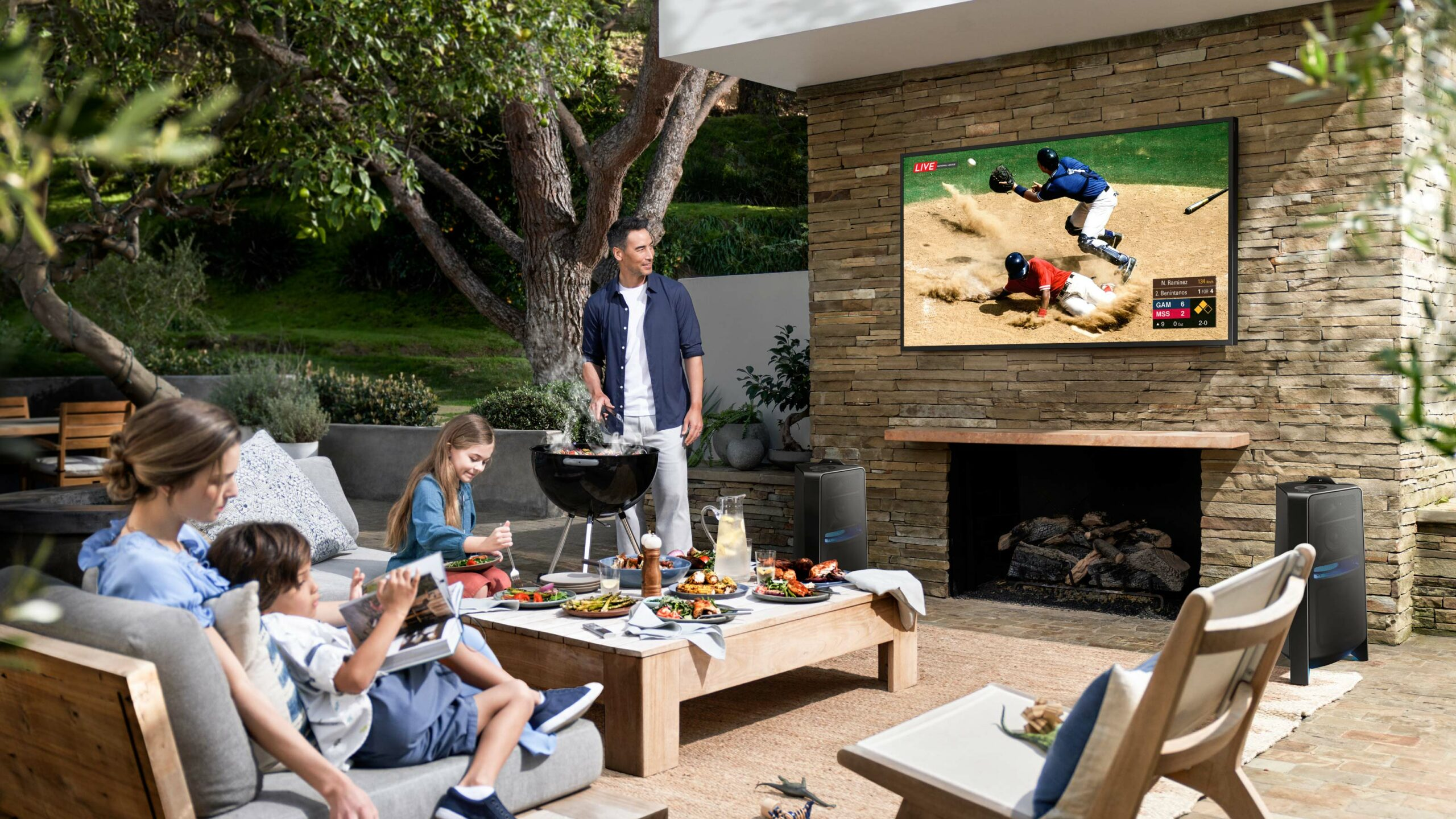 Samsung The Terrace TVs