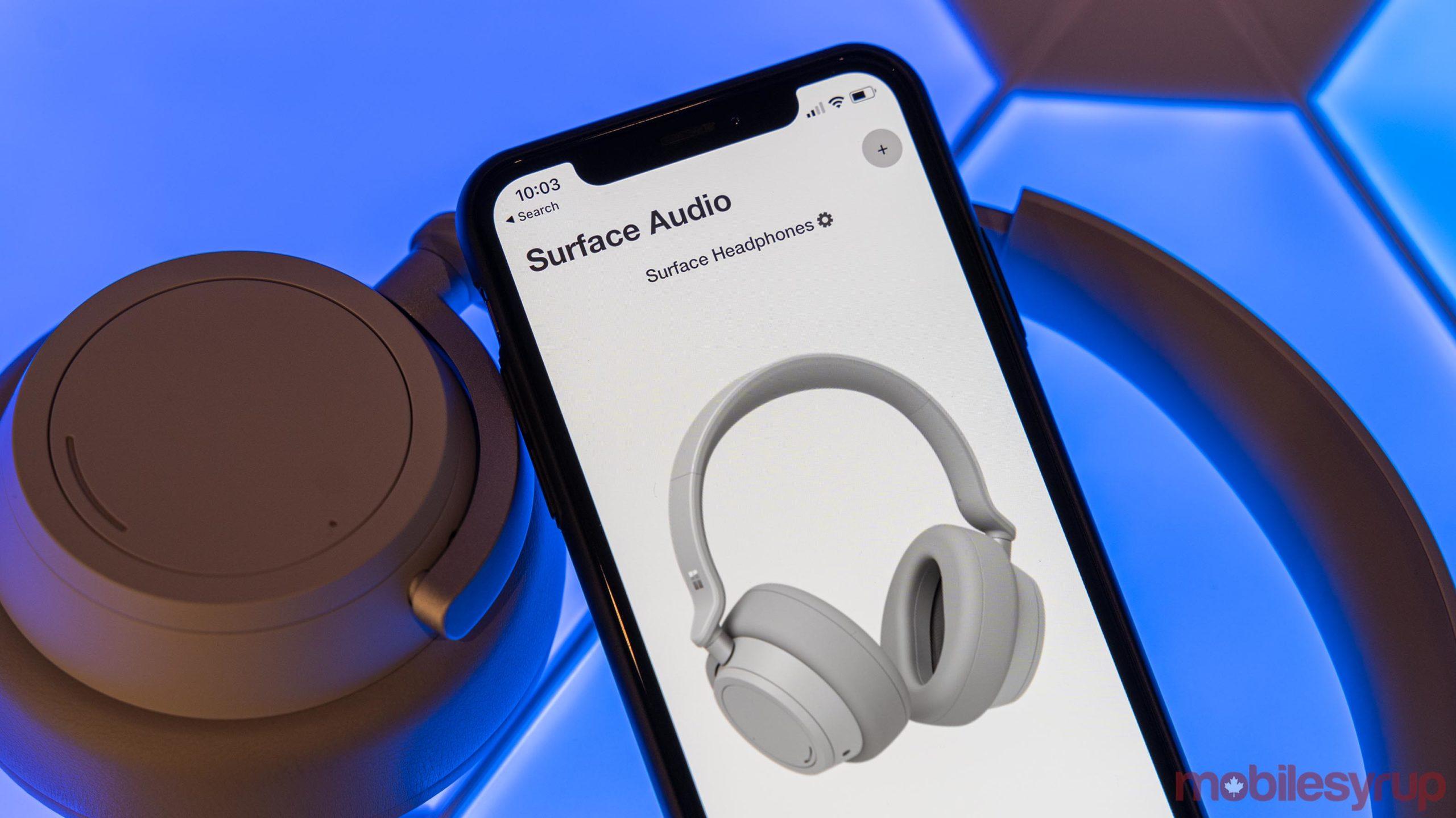 Surface Audio app