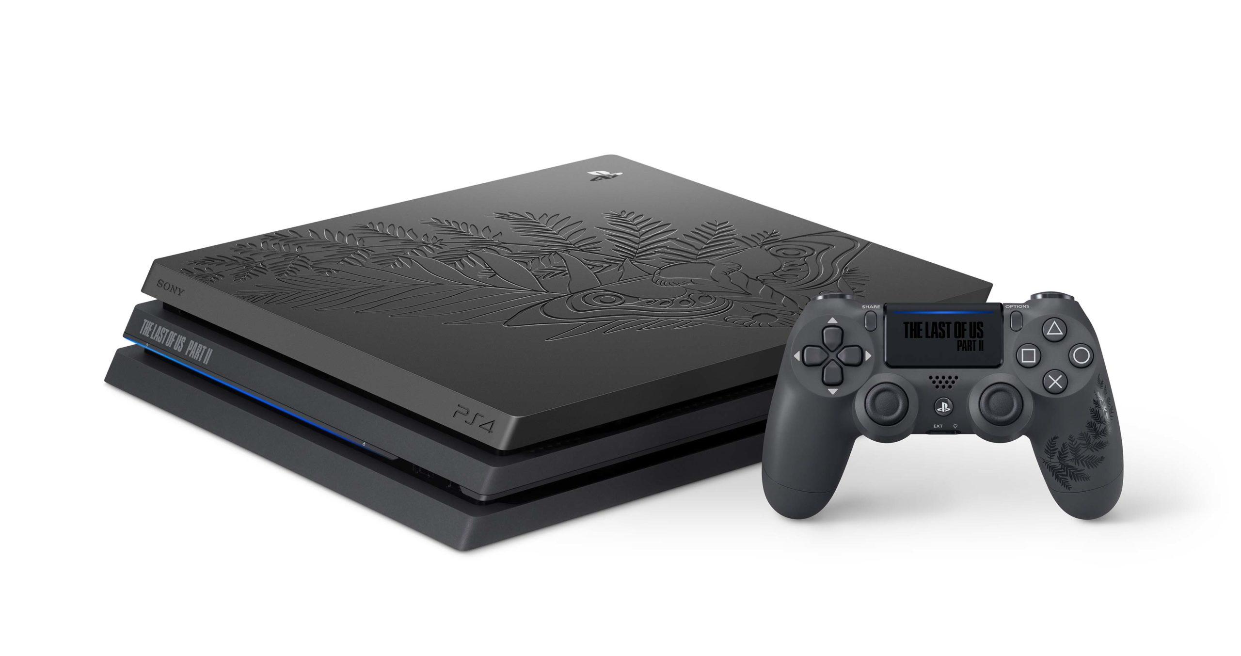 The Last of Us Part II PS4 bundle