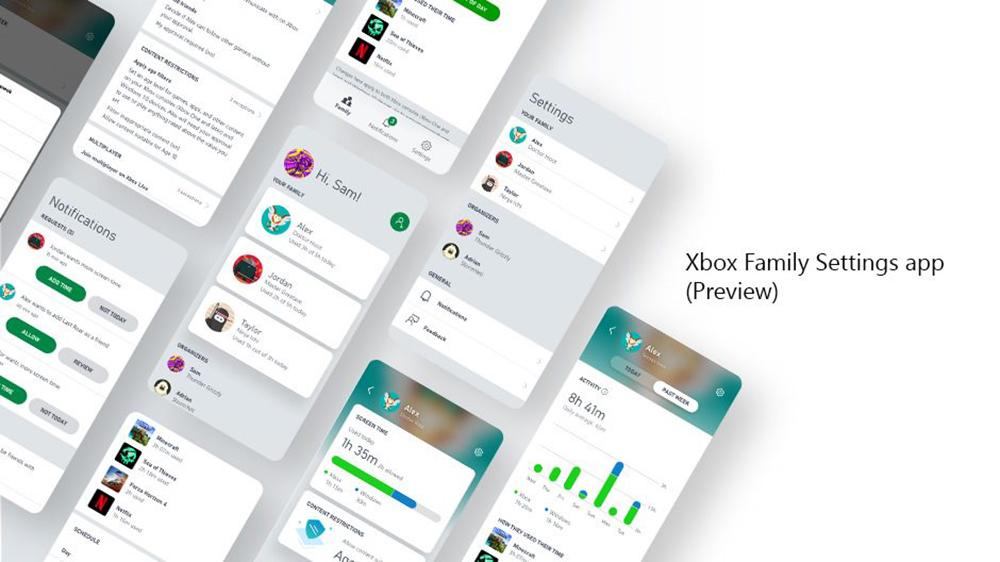 Xbox Family App