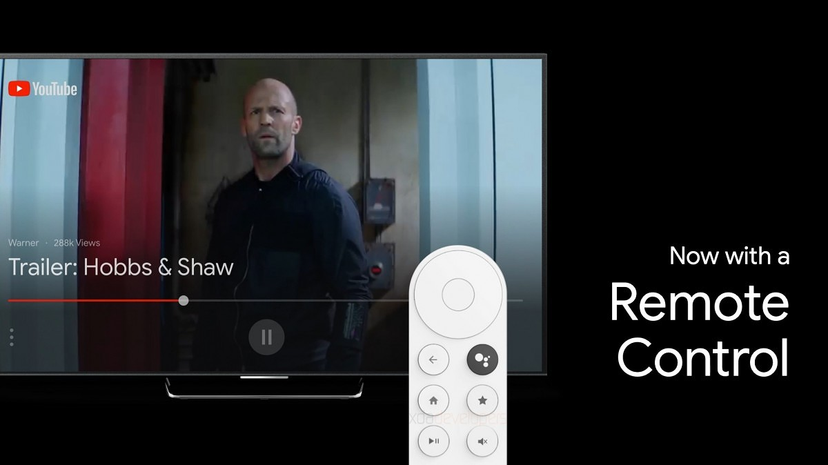 New Android TV streaming stick leak