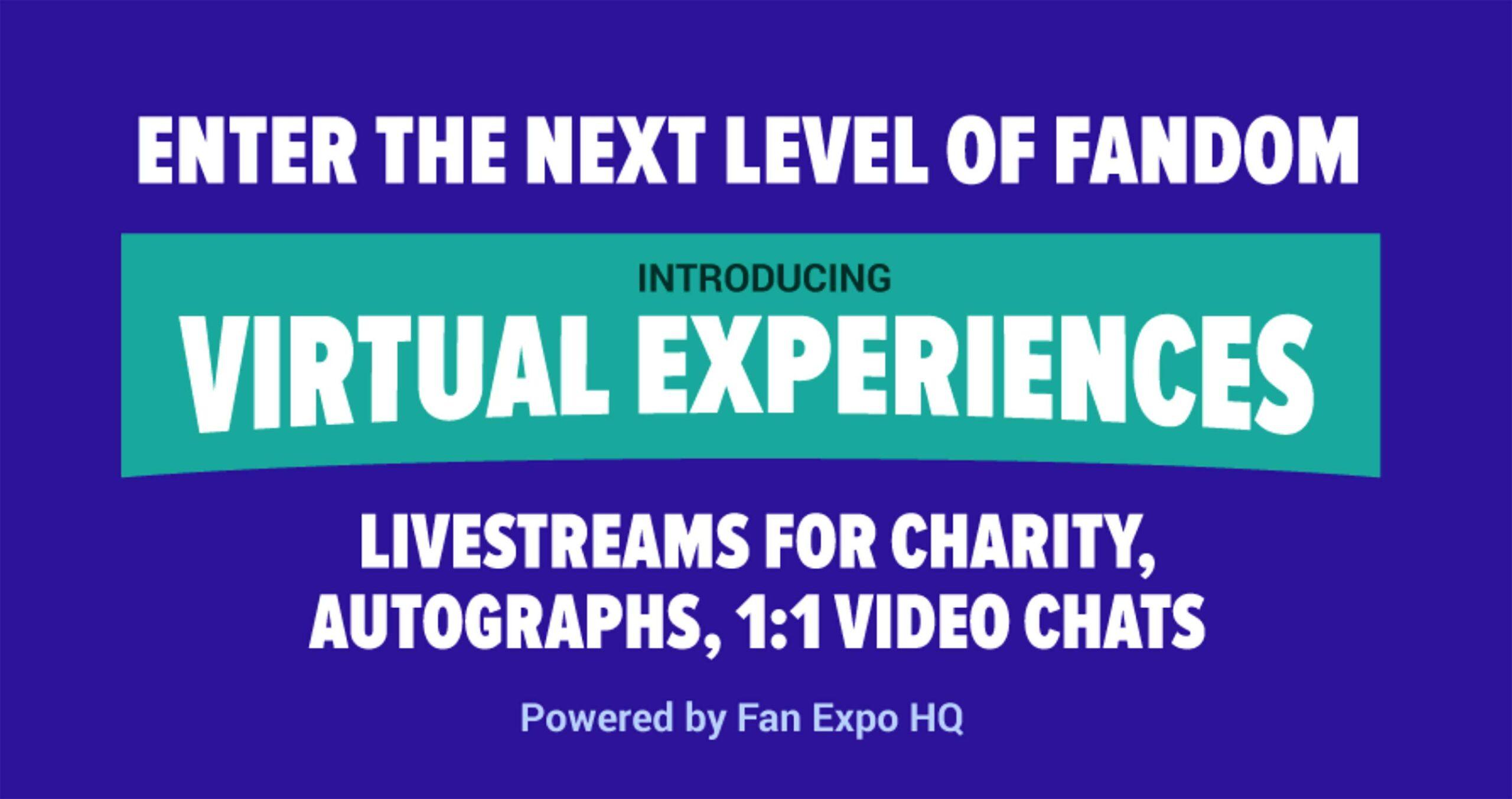 Fan Expo virtual event