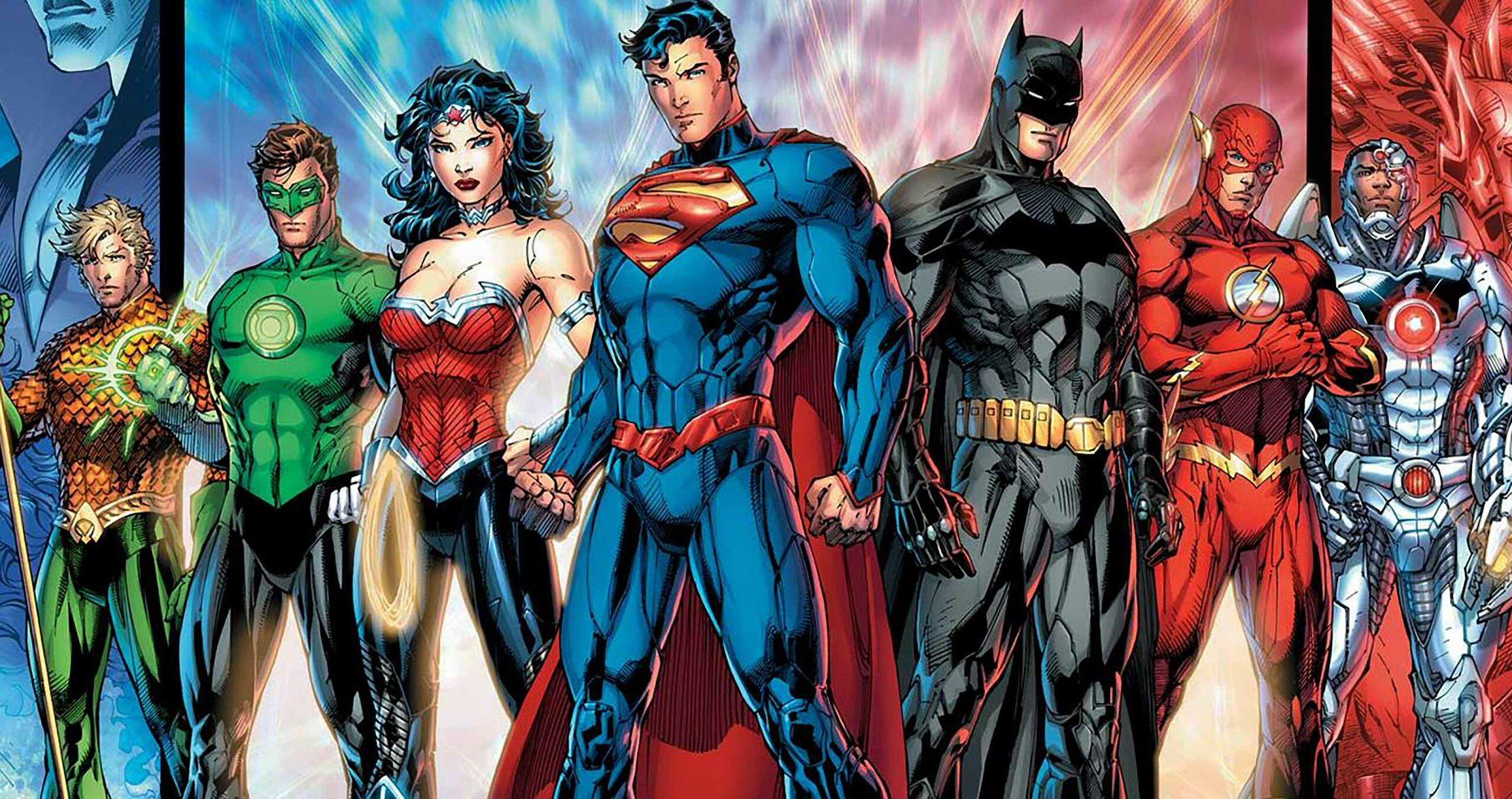 Justice League Jim Lee