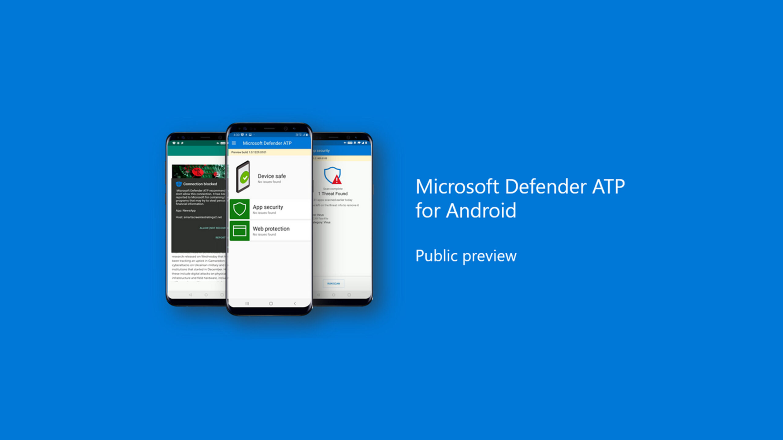 Microsoft Defender for Android preview