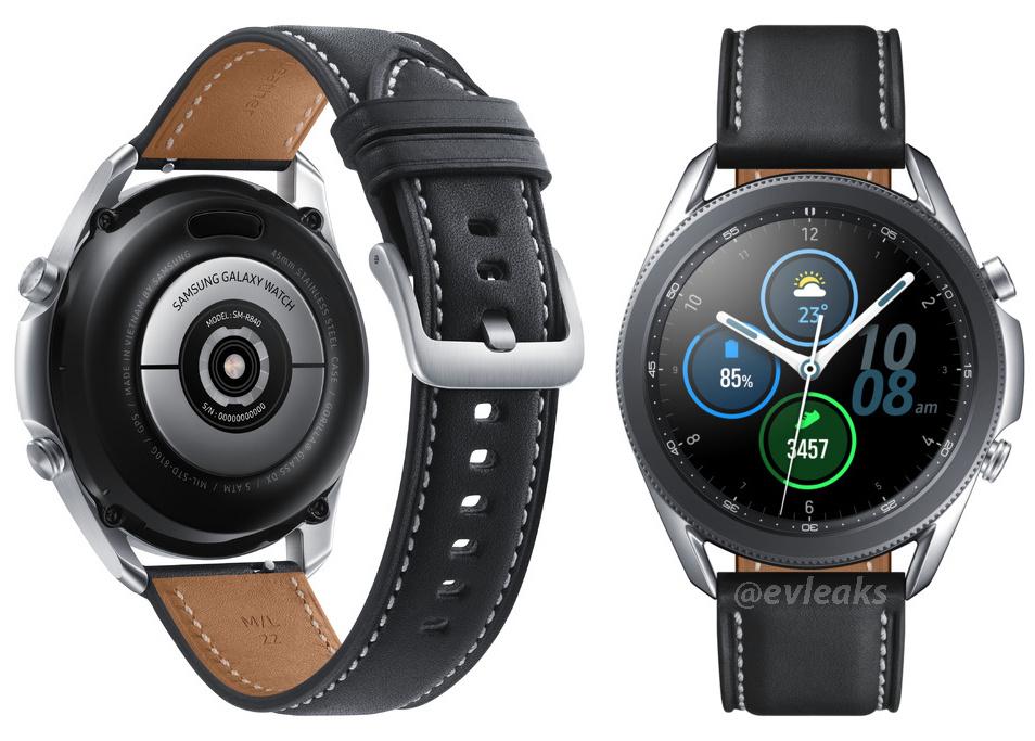 Galaxy Watch 3 leaked render